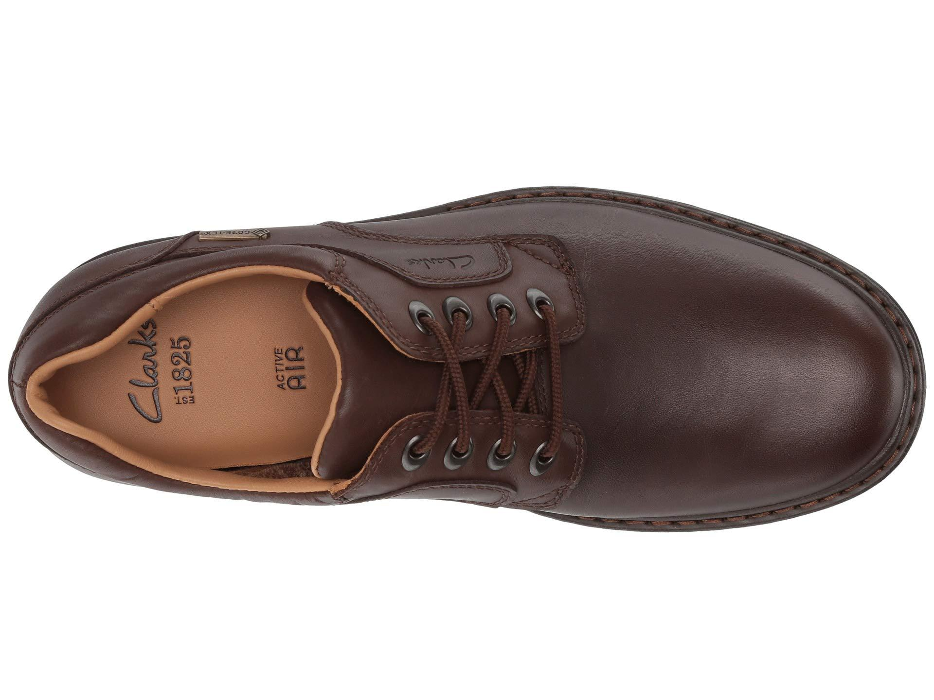 Clarks Leather Rockie Lo Gtx in 0