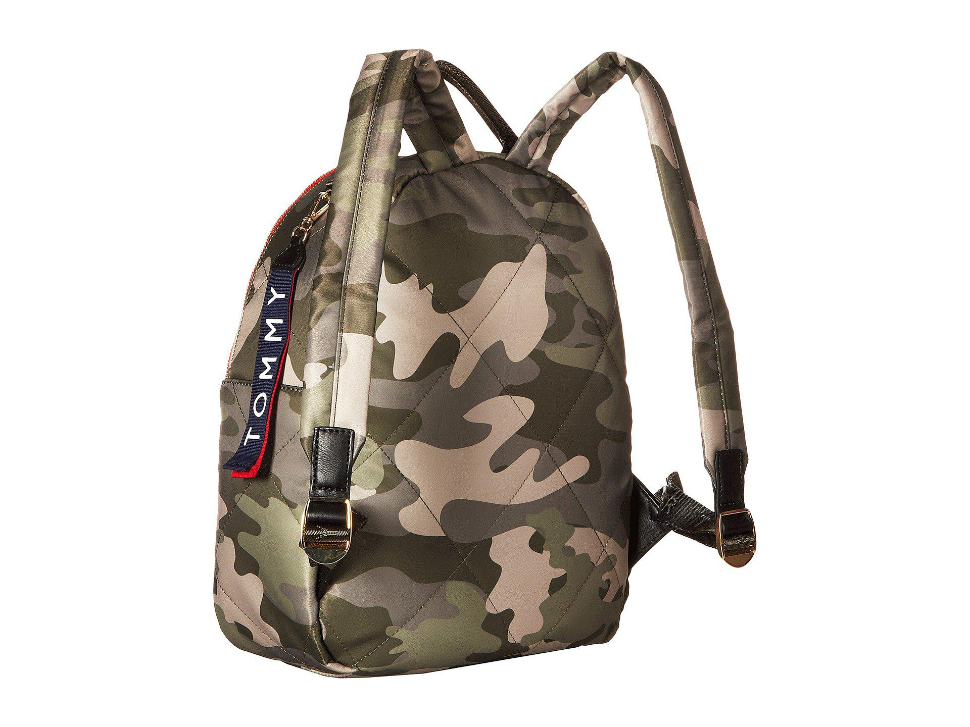 5cd6ed8fd40f Tommy Hilfiger - Kensington Camo Nylon Backpack (green) Backpack Bags -  Lyst. View fullscreen