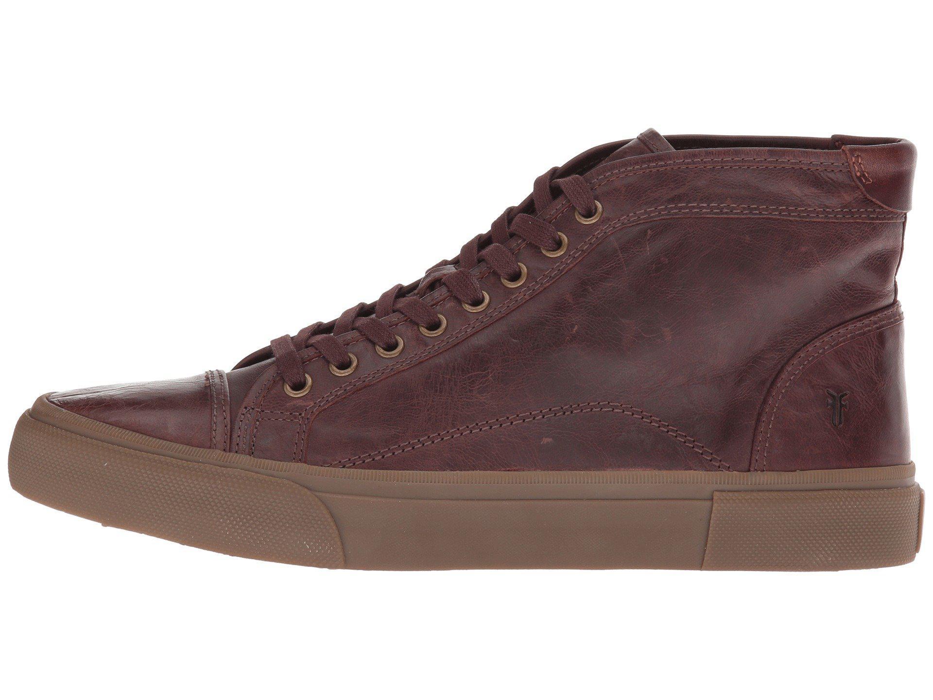 Frye Ludlow Cap Toe High Sneaker in