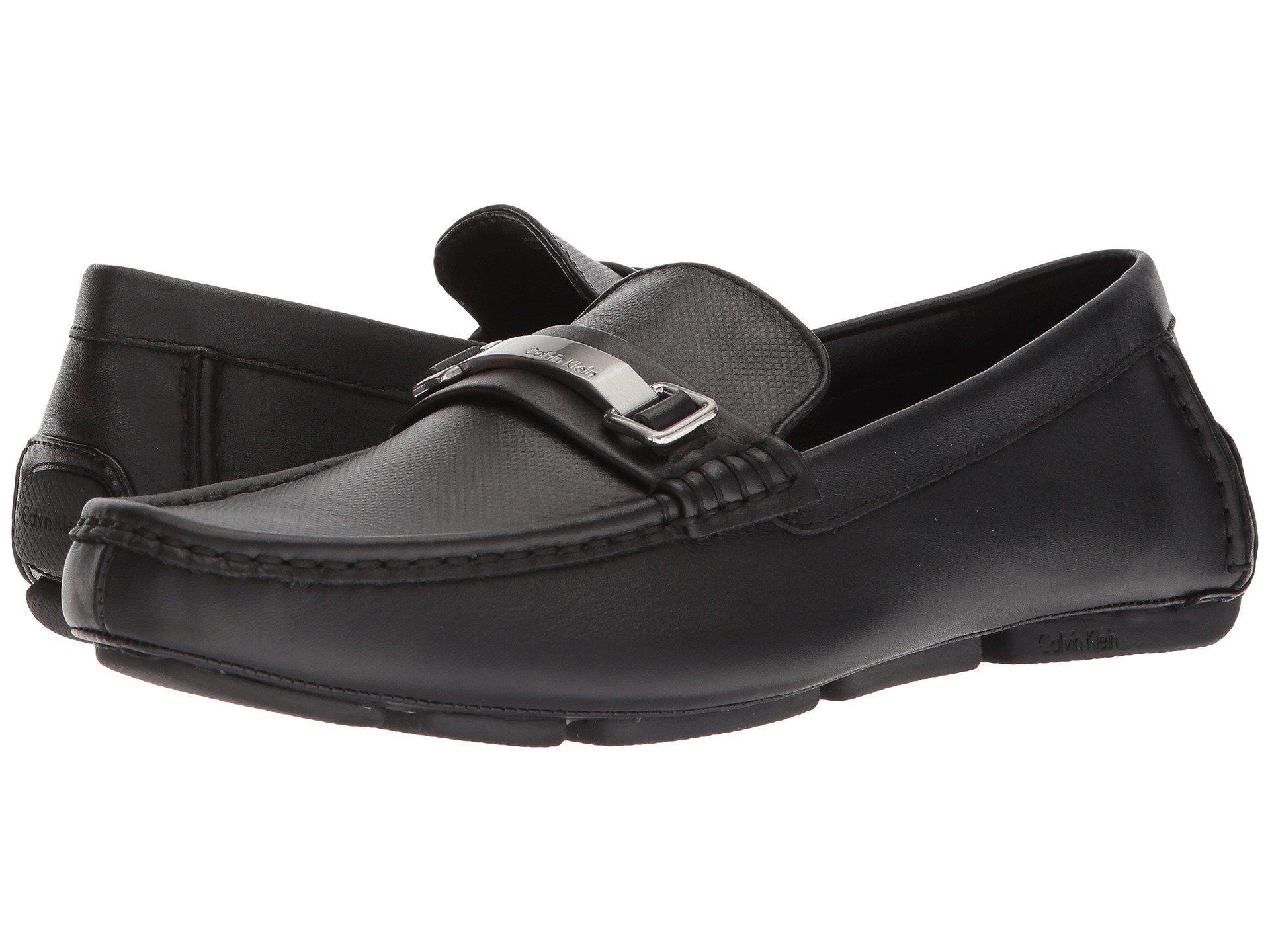 Maddix Black Nappa Calf Men'S Shoes Calvin Klein Maddix Shoes