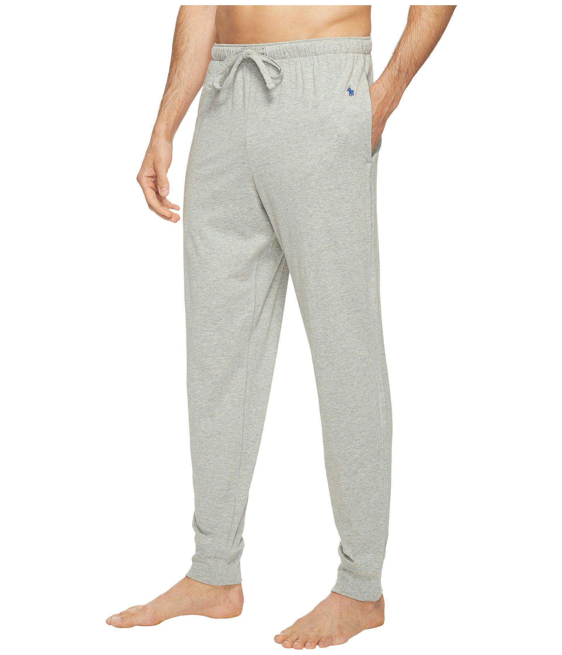 86a9cc850d Polo Ralph Lauren Mens Knit Oxford Pajama Pants