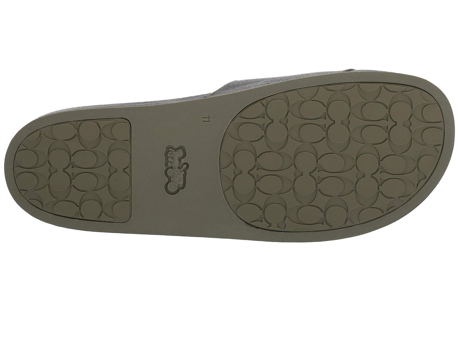 2ad38489da6 Lyst - COACH Rexy And Wild Beast Pool Slide (green) Men s Sandals in ...