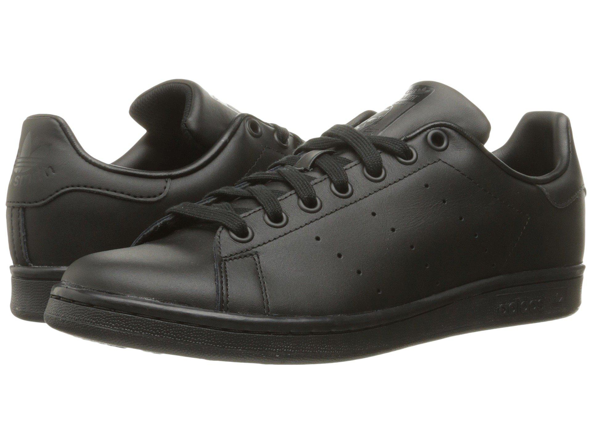 9224dca5f Lyst - adidas Originals Stan Smith (black 1 black 1 black 1) Men s ...