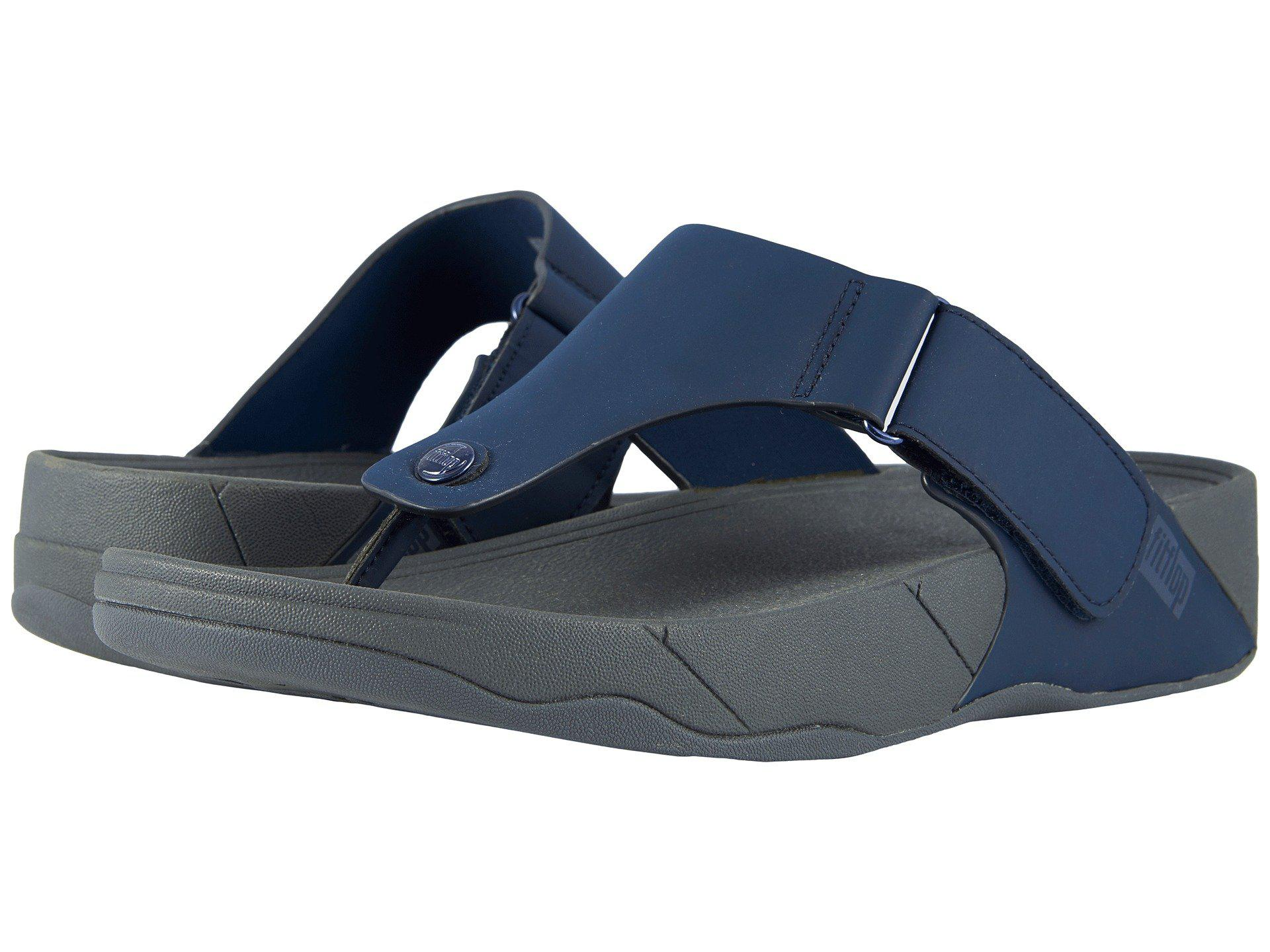 1e7a9f9f1481 Lyst - Fitflop Trakk Ii (midnight Navy) Men s Sandals in Blue for ...