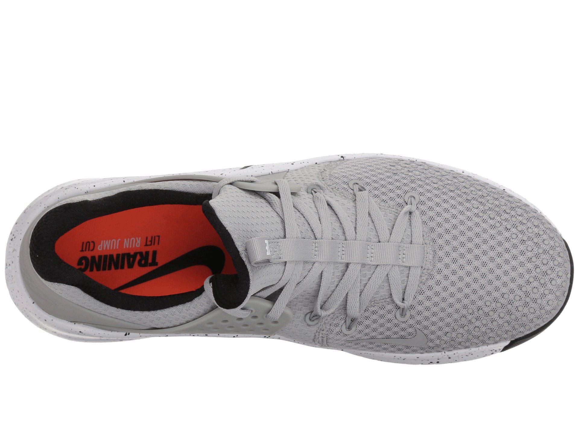 b2d19a5433ef1c Nike - Metallic Free Trainer V8 (matte Silver black white) Men s Cross.  View fullscreen