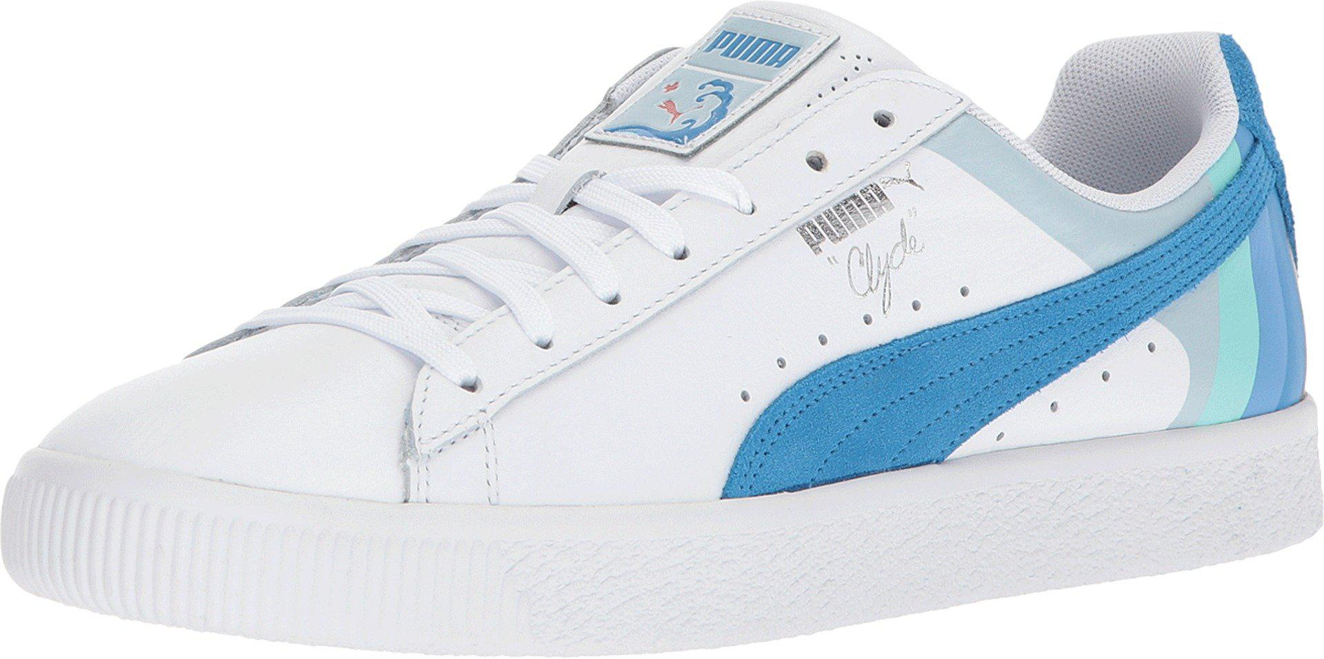 PUMA Leather Clyde - Pink Dolphin in