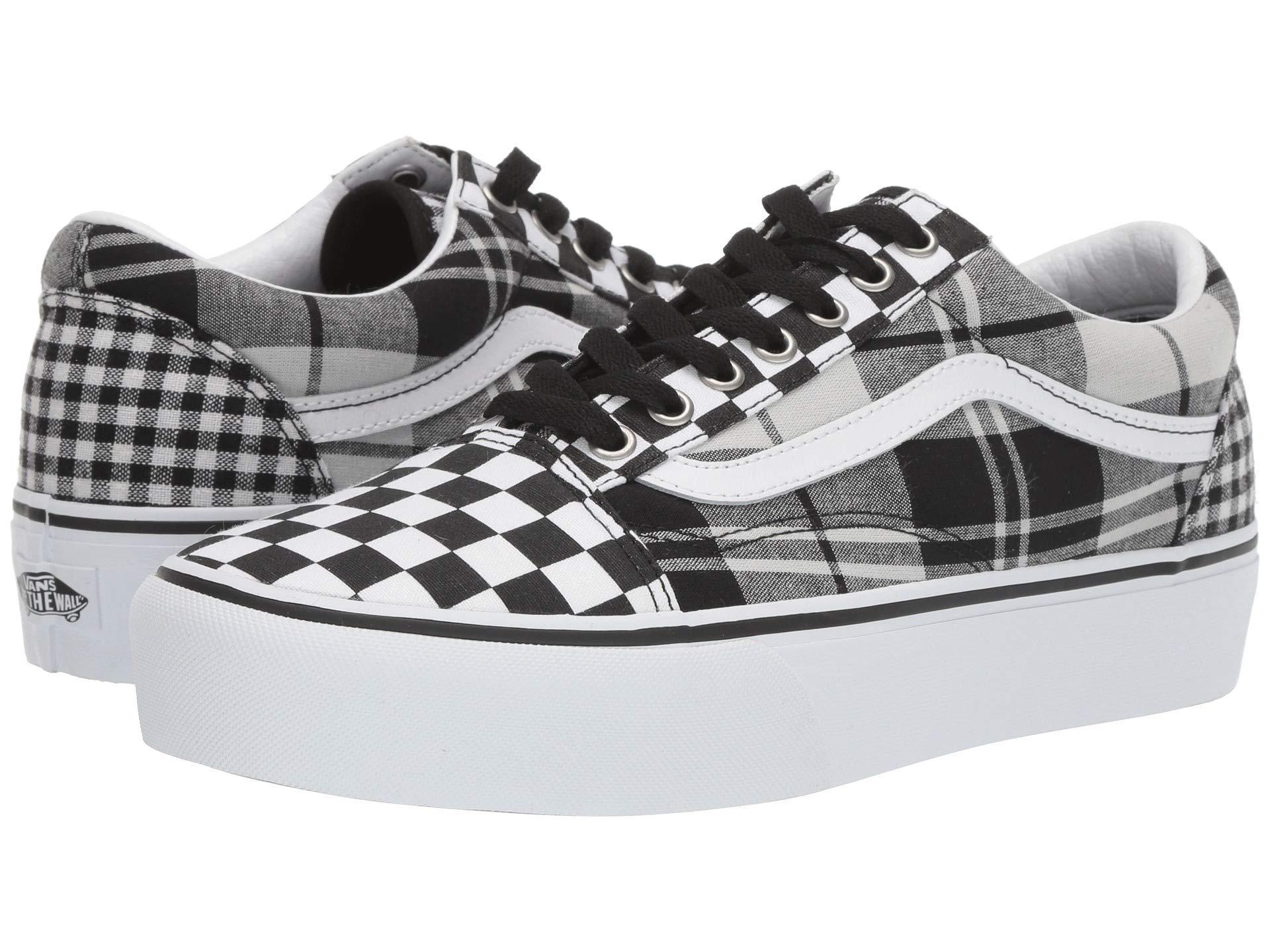 Vans Canvas Plaid Checkerboard Old