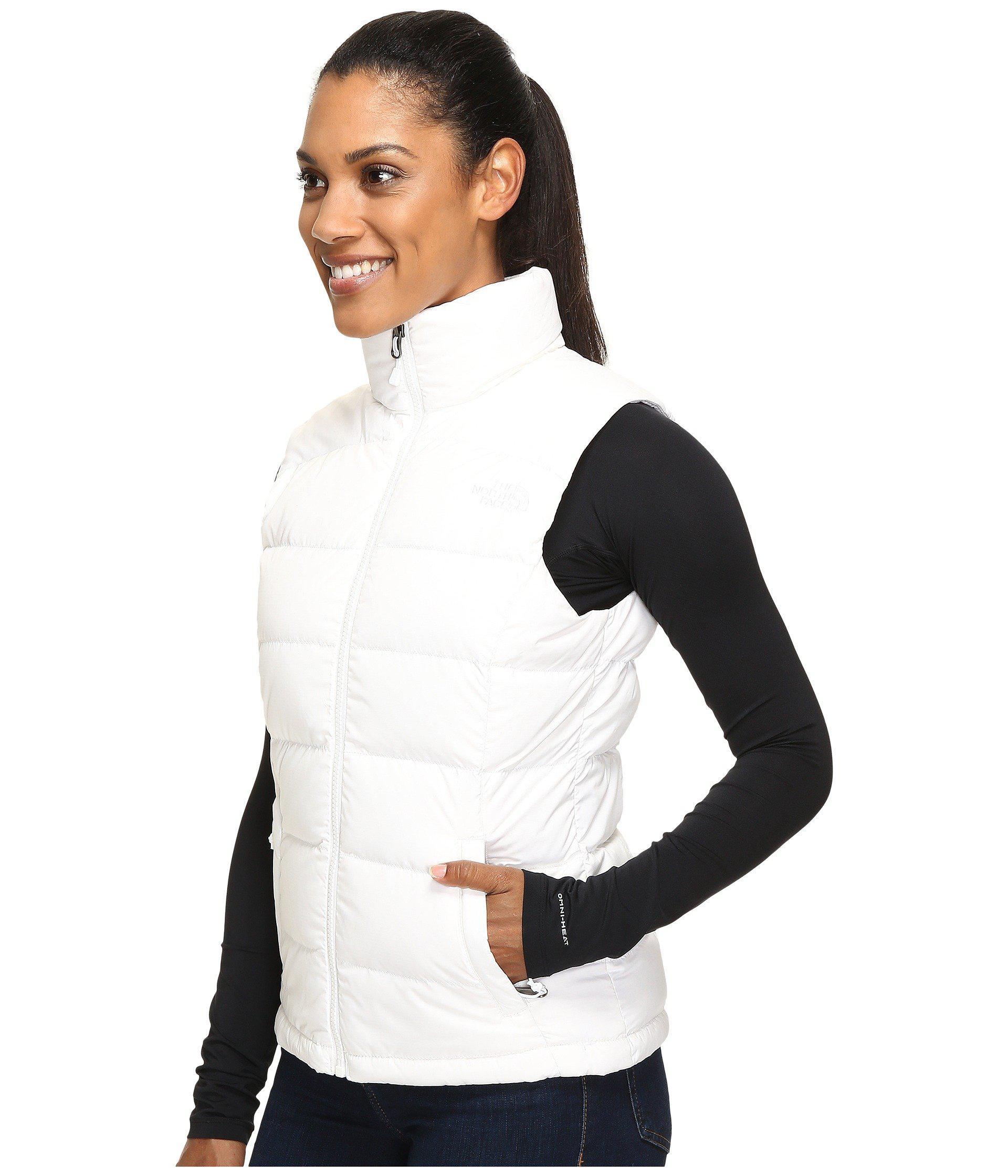 Lyst - The North Face Nuptse 2 Vest (tnf White (prior Season)) Women s Vest  in White b8998880a