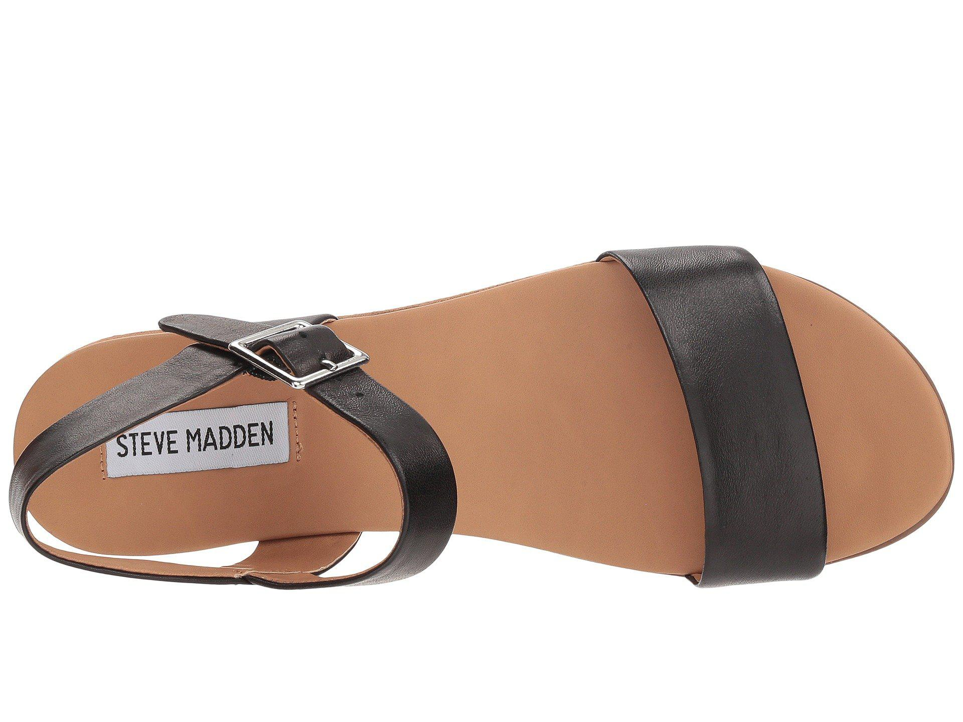 5c40ec0d62c Lyst - Steve Madden Aida (black Leather) Women s Shoes