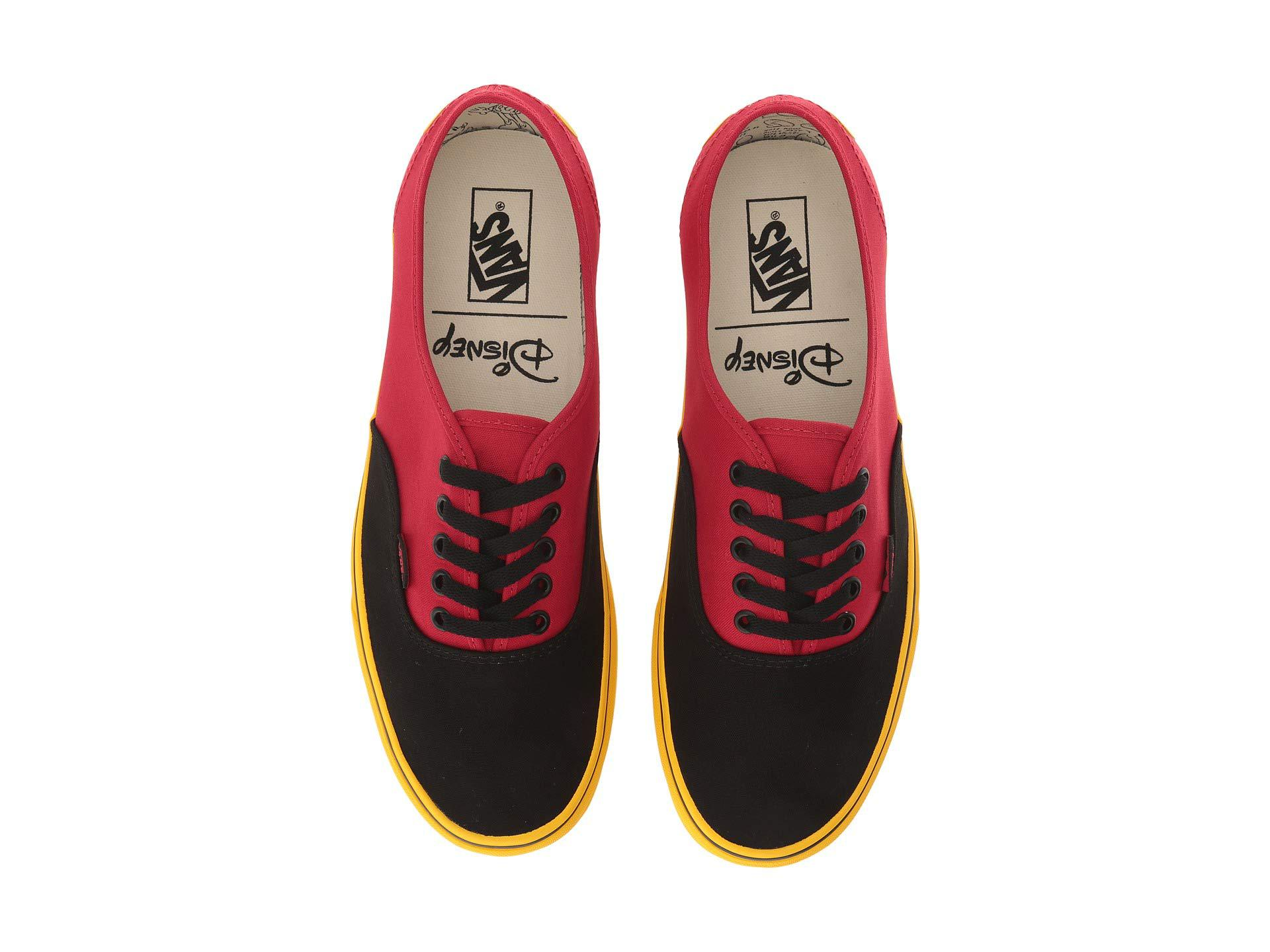 8811dfa2573c15 Lyst - Vans Mickey s 90th Disney(r) Authentictm ((disney) Mickey red ...