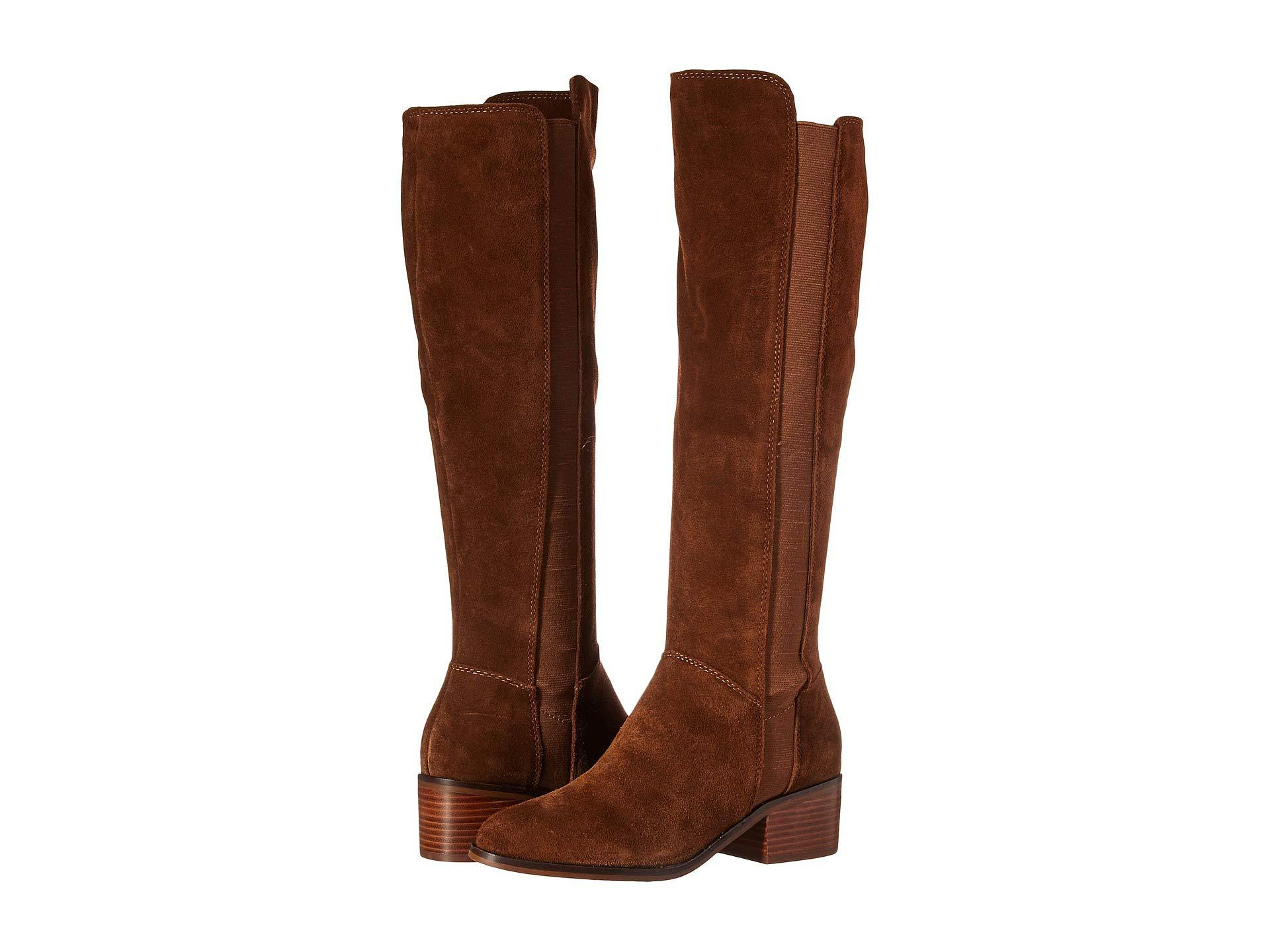 cd3ad47947b Steve Madden Brown Giselle To The Knee Boot