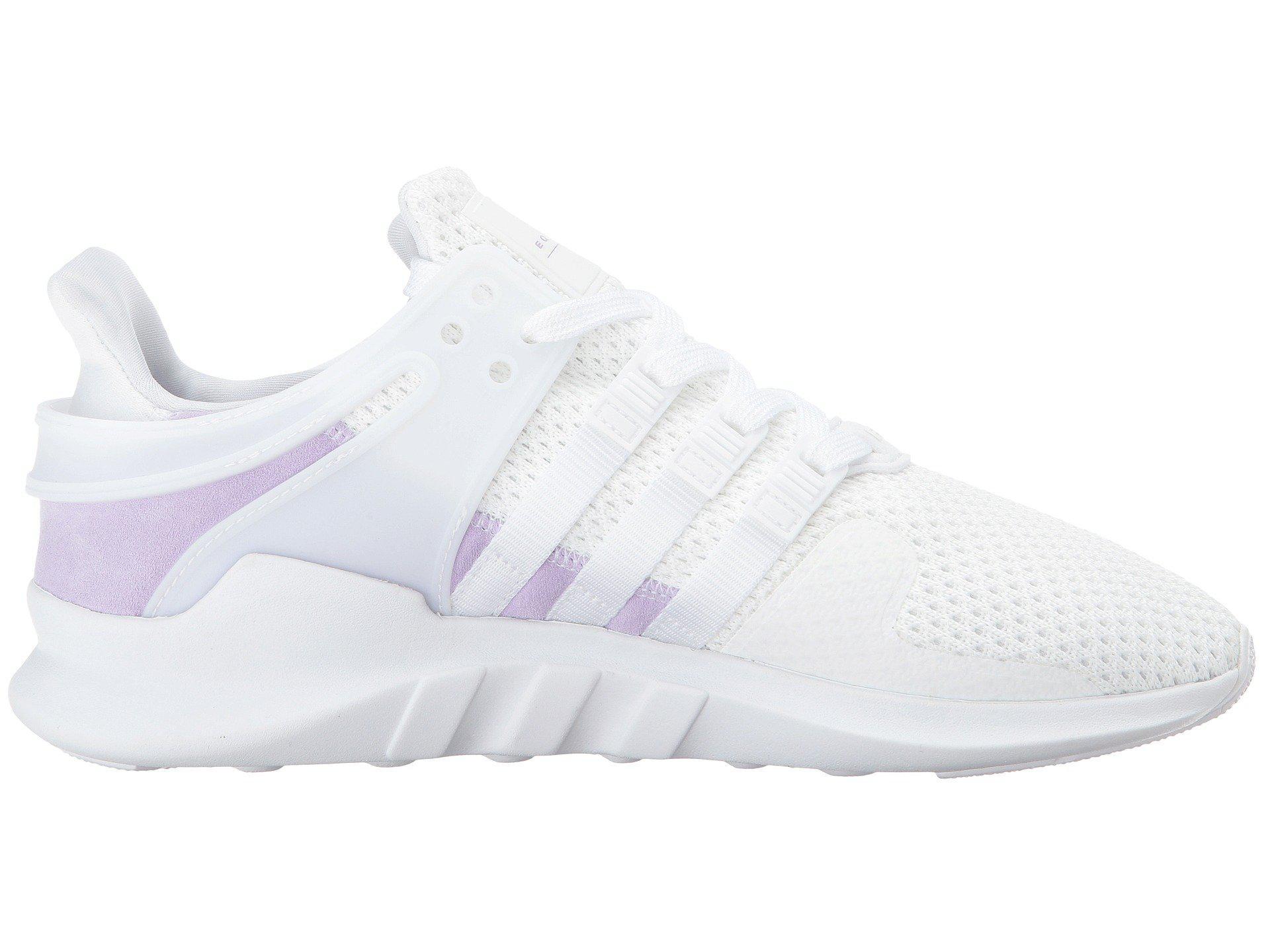 Eqt Support Adv (white/white/purple Glow) Women's Shoes