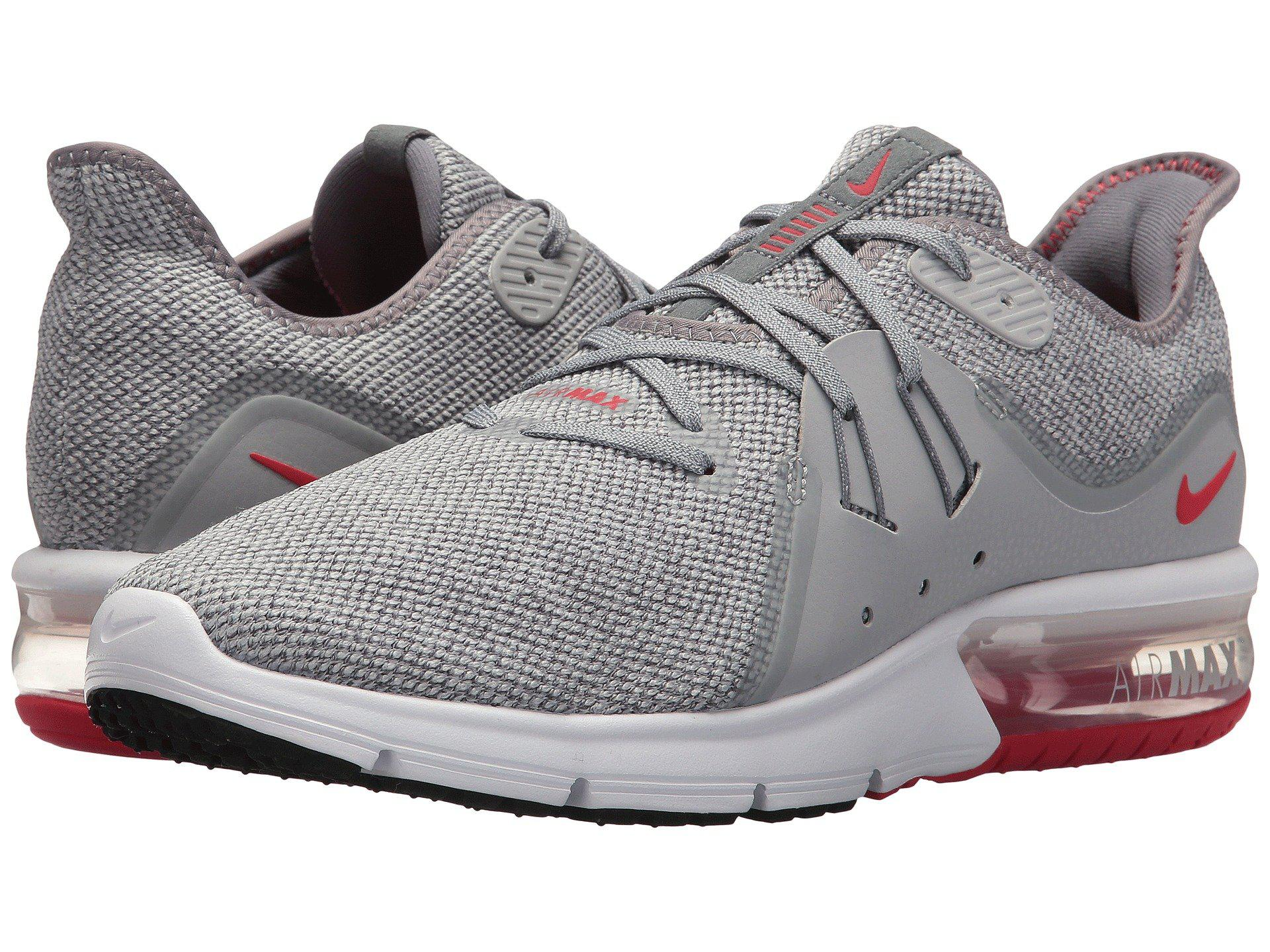 cheap for discount 50ec4 12808 Nike Gray Air Max Sequent 3 Fitness Shoes for men