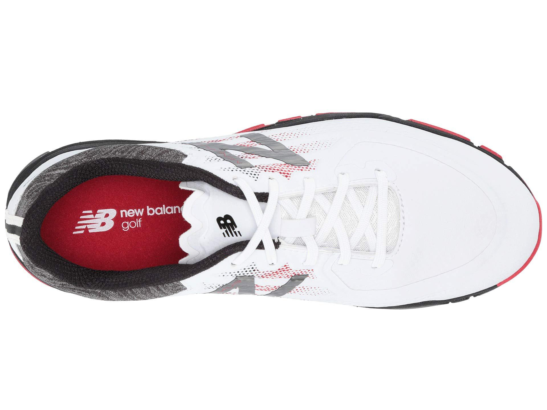 New Balance - Nbg1007 Minimus Tour (white red black) Men s Golf Shoes. View  fullscreen 0b8cfca7210