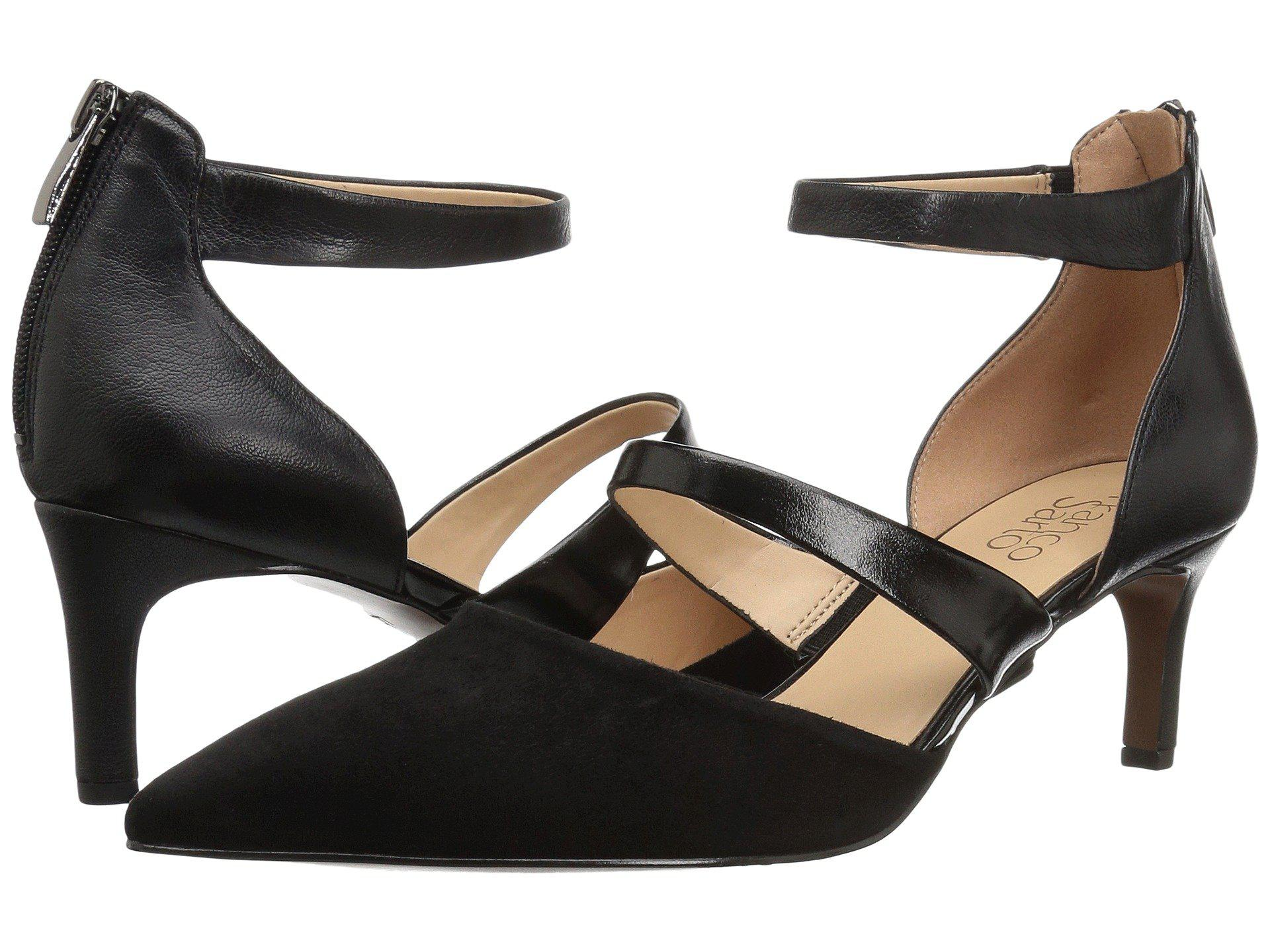 517d6cd79a1 Lyst - Franco Sarto Davey (black Suede leather) Women s Shoes in Black