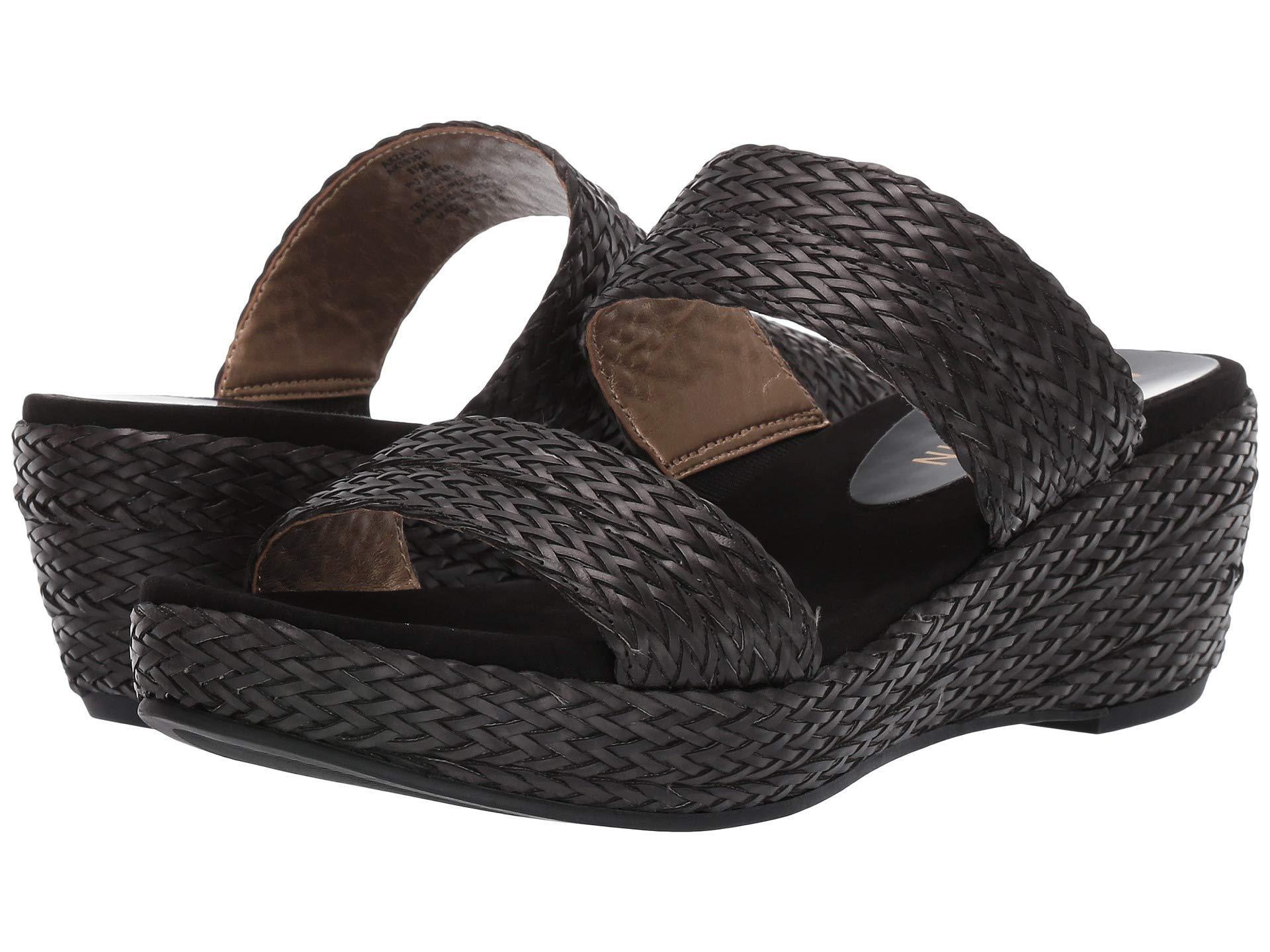 3b7ed8d2459d Lyst - Anne Klein Zala Platform Sandal (black) Women s Shoes in Black