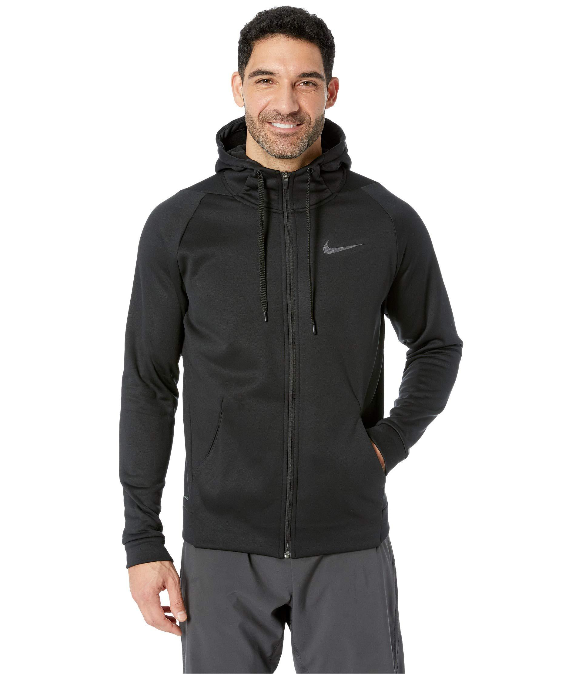 c14eb776 Nike Dri-fit Therma Men's Full-zip Training Hoodie (blue Void/black ...