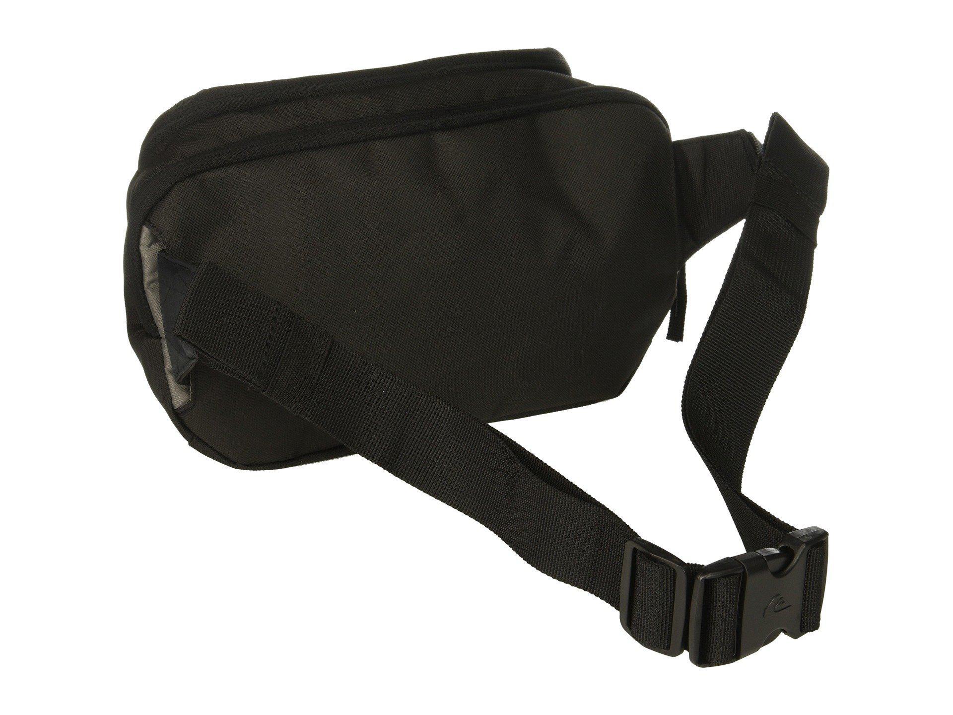 595b0326eafbd Quiksilver - Lone Walker Ii Waist Bag (black) Travel Pouch for Men - Lyst.  View fullscreen