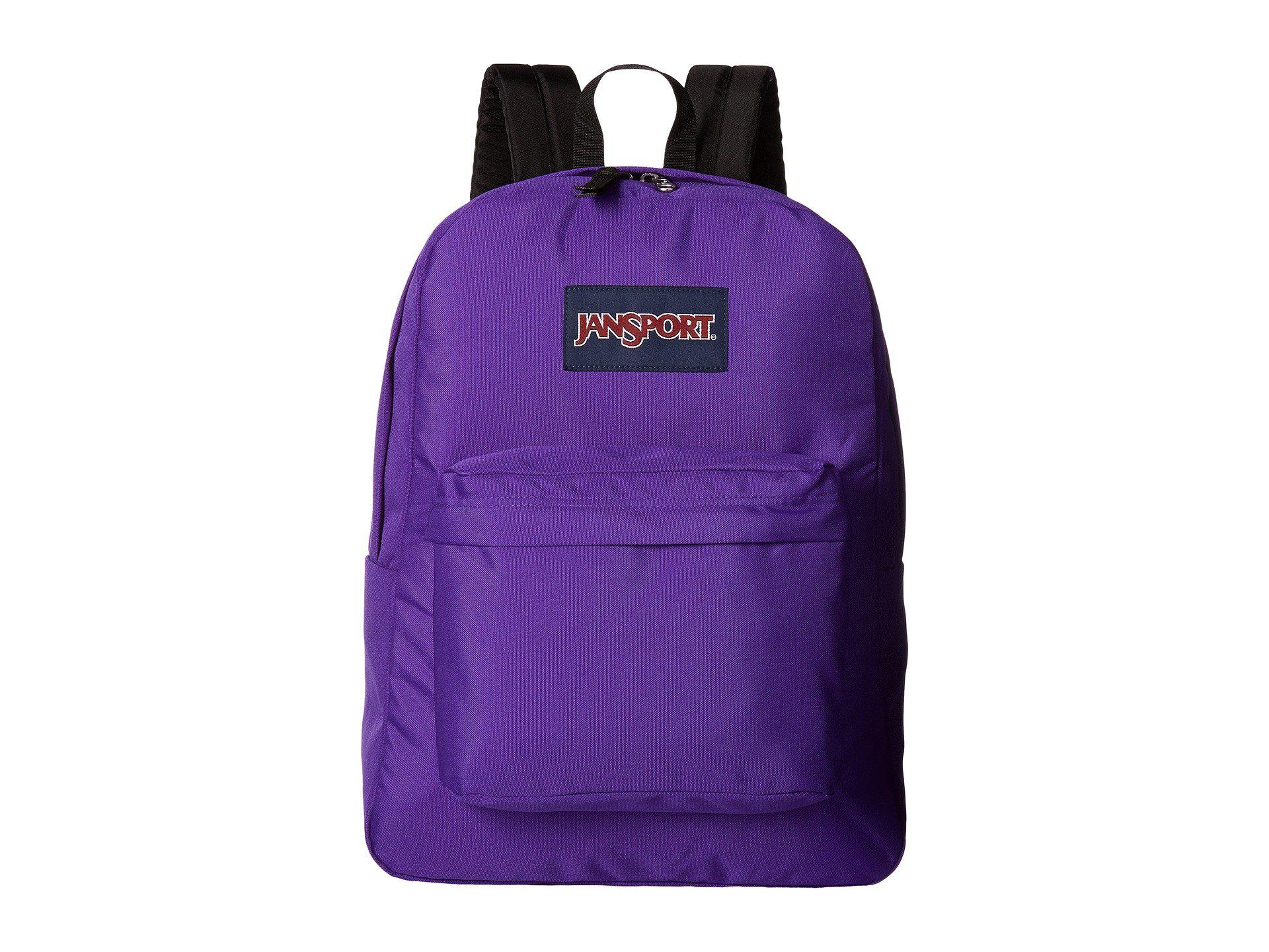 f68307a2e4a3 Lyst - Jansport Superbreak(r) (forge Grey) Backpack Bags in Purple ...