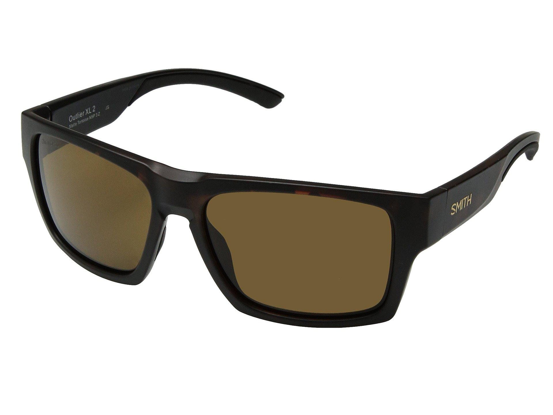 b3f0806918 Smith Optics. Women s Brown Outlier 2 Xl (matte Black gray Green  Chromapoptm Polarized Lens) Athletic Performance Sport Sunglasses