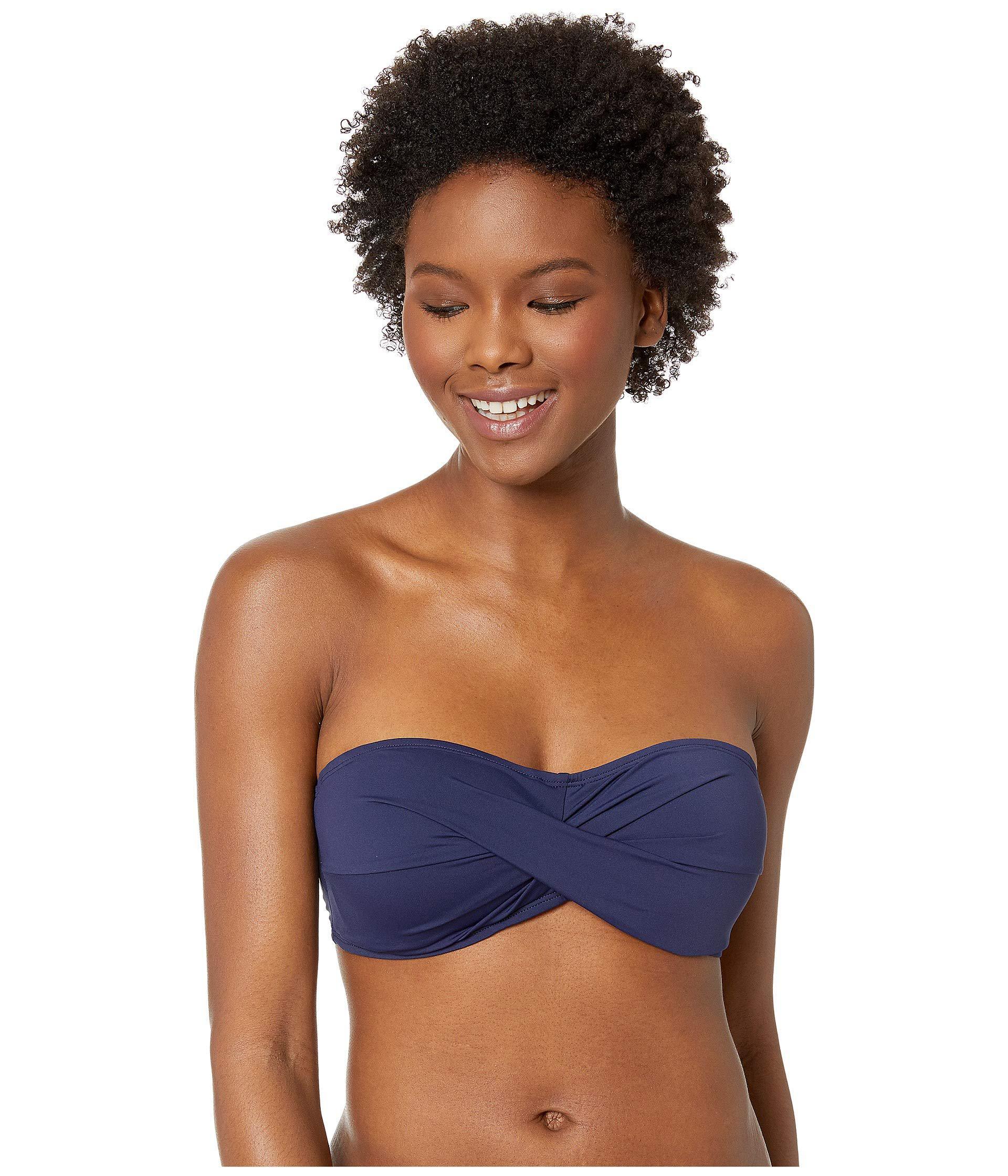 93a35c57ac3 Lyst - Tommy Bahama Pearl Twist Bandeau Bra (white) Women s Swimwear ...