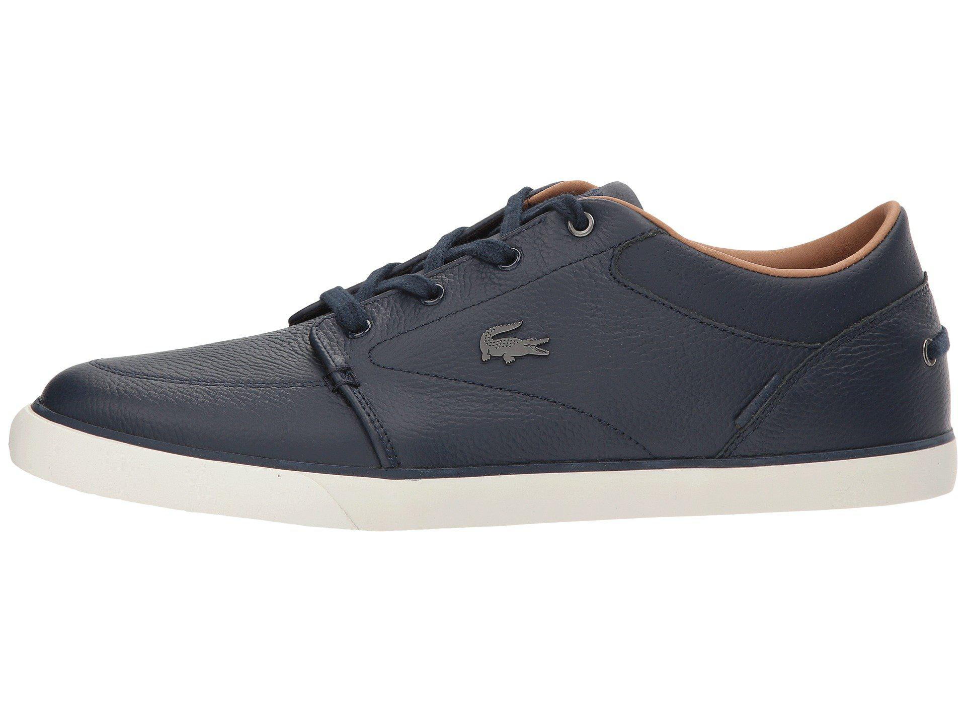 Lacoste Leather Bayliss 118 1 (navy/off