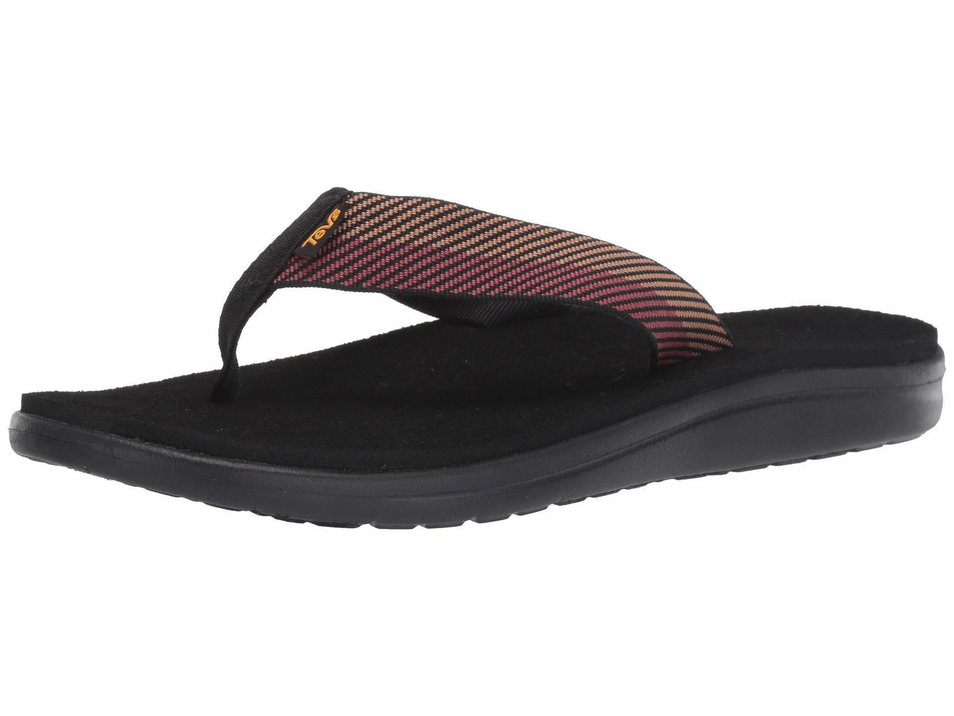 a7d1d22f42aa Teva - Black Voya Flip (cole Insignia Blue) Men s Sandals for Men - Lyst.  View fullscreen