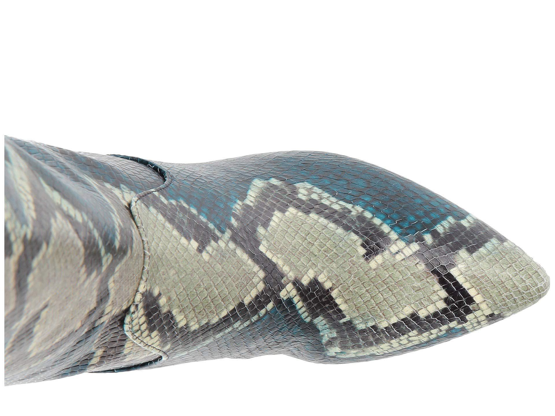 7149cf76c6a Sam Edelman - Blue Hai Knee High Boot - Lyst. View fullscreen