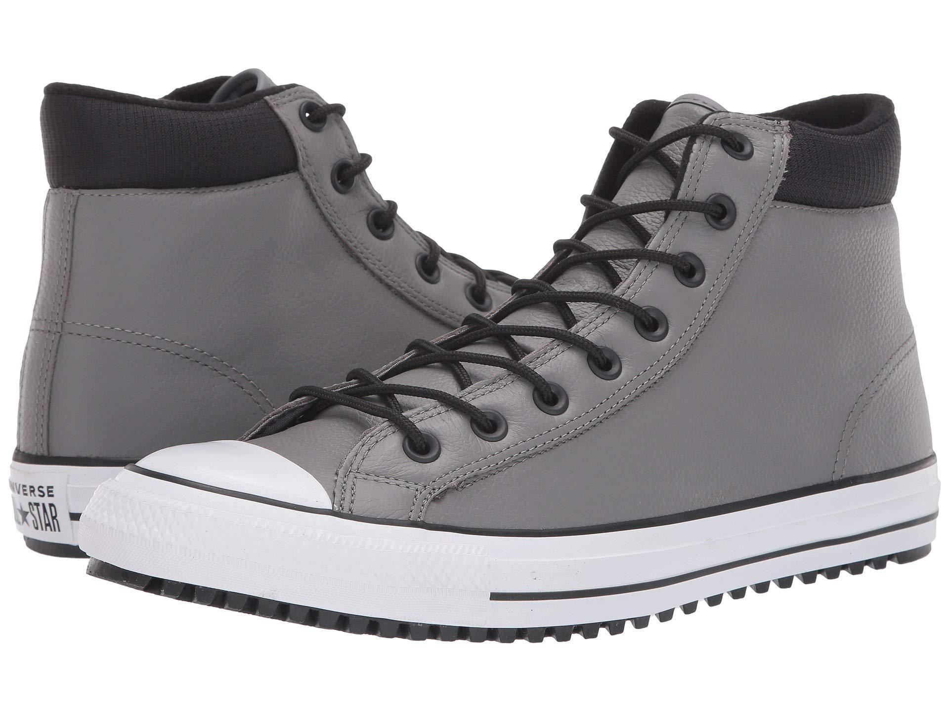 41461acddf16 ... denmark lyst converse chuck taylor all star padded collar boot hi black  21ca6 fad68