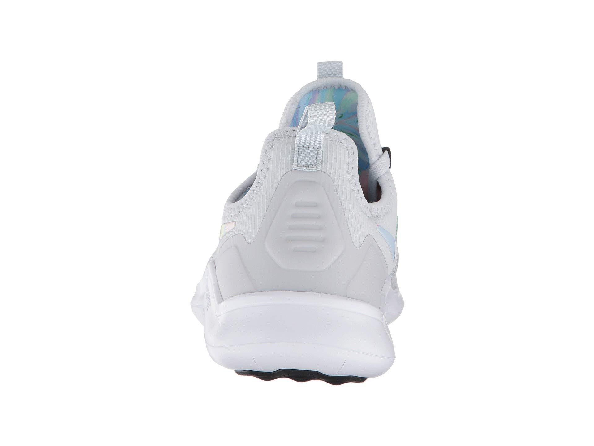 Shop Nike Women's Lunarglide + 3 Breathe Pure PlatinumWhite