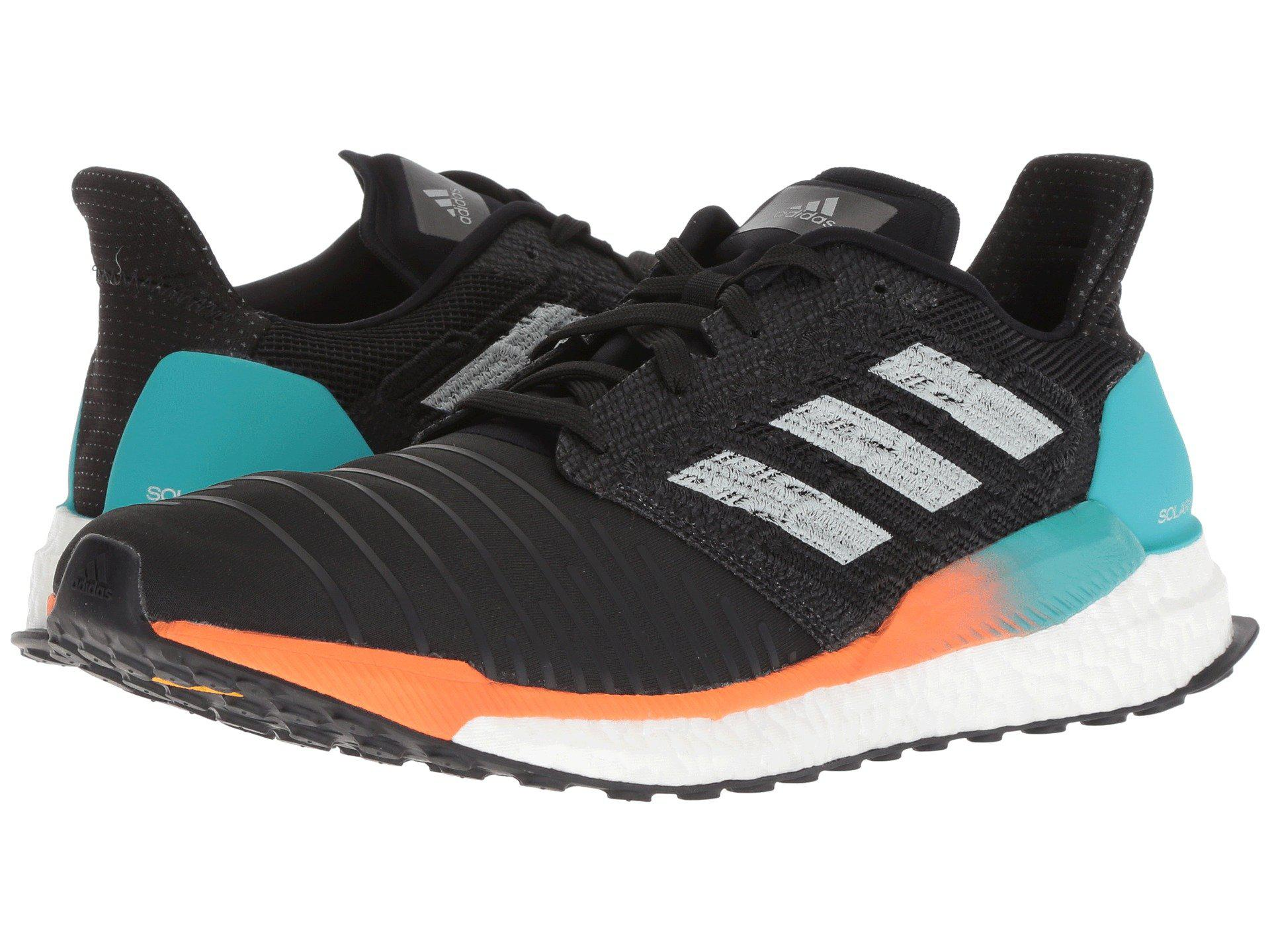 6fdf3aee22679 Lyst - adidas Originals Solar Boost (tech Ink grey Two hi-res Orange ...