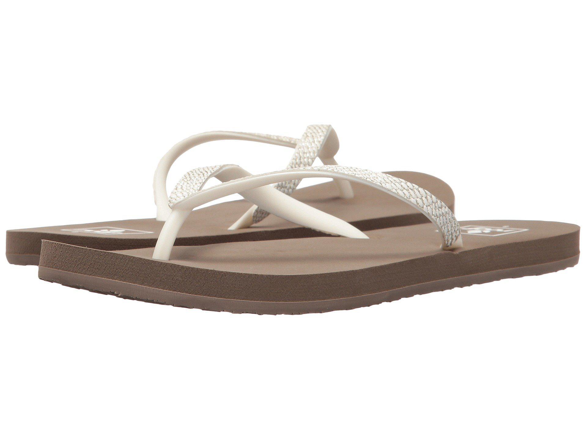 133866148 Lyst - Reef Stargazer Sassy (blush) Women s Sandals in Gray