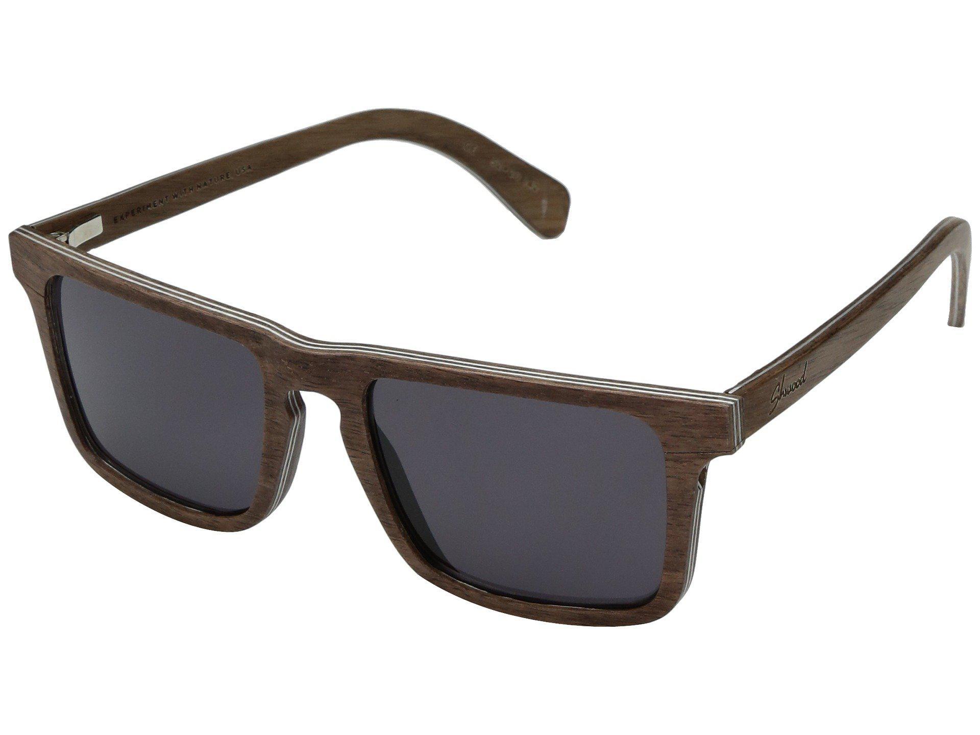 4bd0d24cc5 Lyst - Shwood Govy 2 Wood Sunglasses (walnut grey) Athletic ...