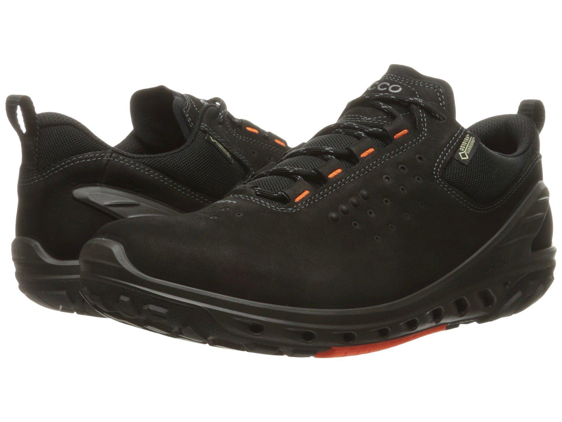 3bdc9987588a79 Lyst - Ecco Biom Venture Gtx Tie (black black) Men s Tennis Shoes in ...