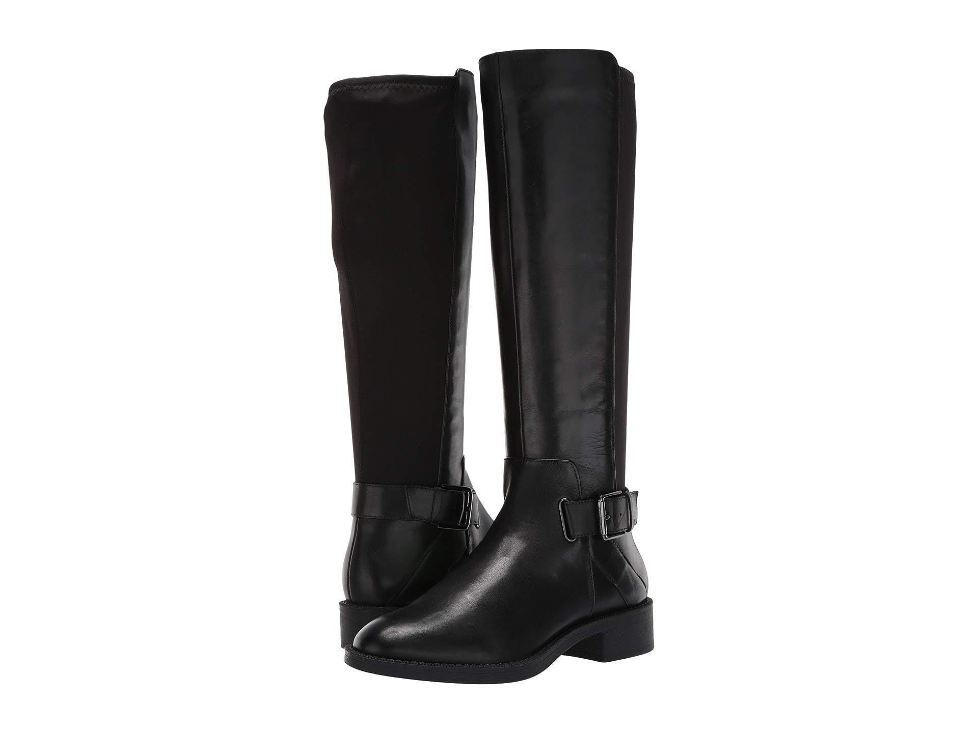 Nine West Leather Senior Boot (black