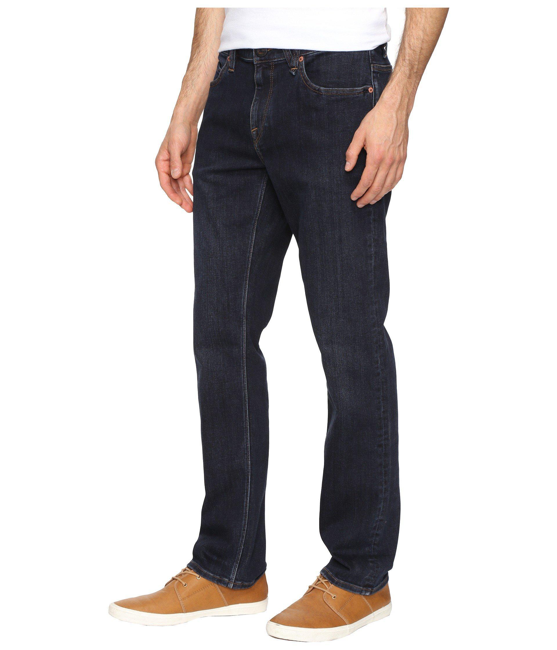 b2b3a9da Lyst - Volcom Solver Modern Fit Stretch Denim (vintage Blue) Men's Clothing  in Blue for Men - Save 12%