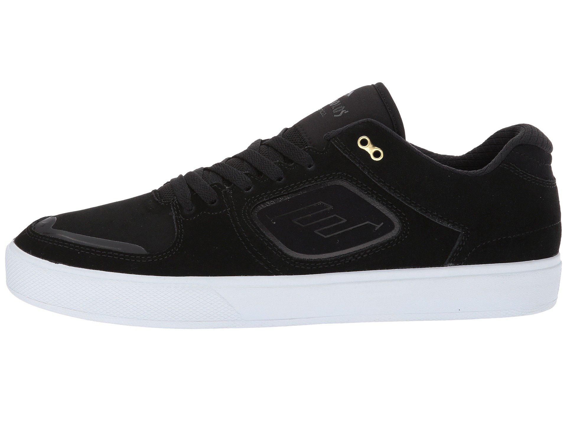 Emerica Mens Skate Shoes Reynolds G6 Black Gum