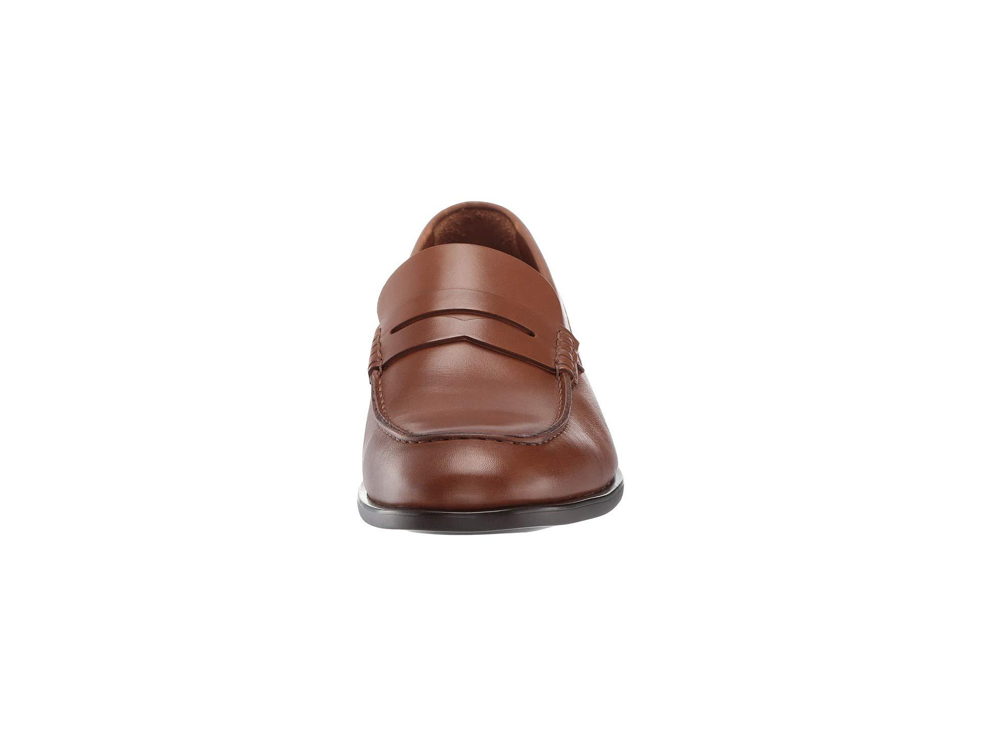 f4370ac6fa9 Lyst - Aquatalia Adamo (black Dress Calf) Men s Slip On Shoes in ...