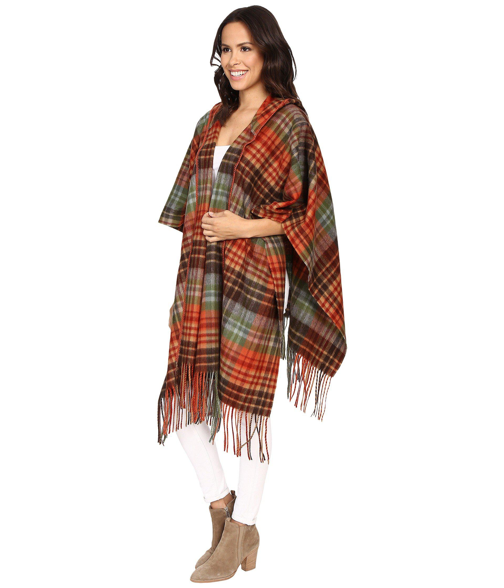 a689ef6760 Lyst - Pendleton Hooded Blanket Shawl (great Smoky Mountains Park ...