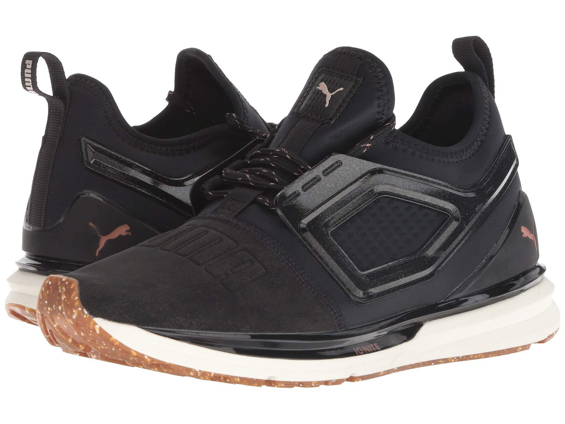fc1586d0754 Lyst - PUMA Ignite Limitless 2 Crafted ( Black rose Gold) Women s ...
