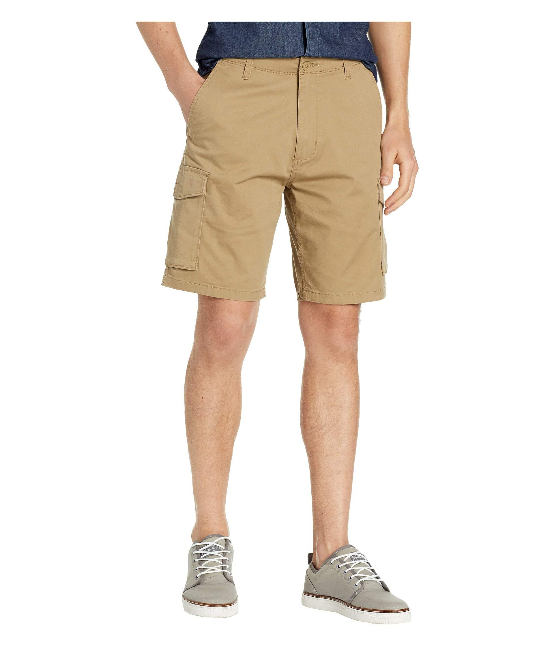 c7ecf7ae Lyst - Dockers Straight Fit Cargo Shorts (new British Khaki) Men's ...