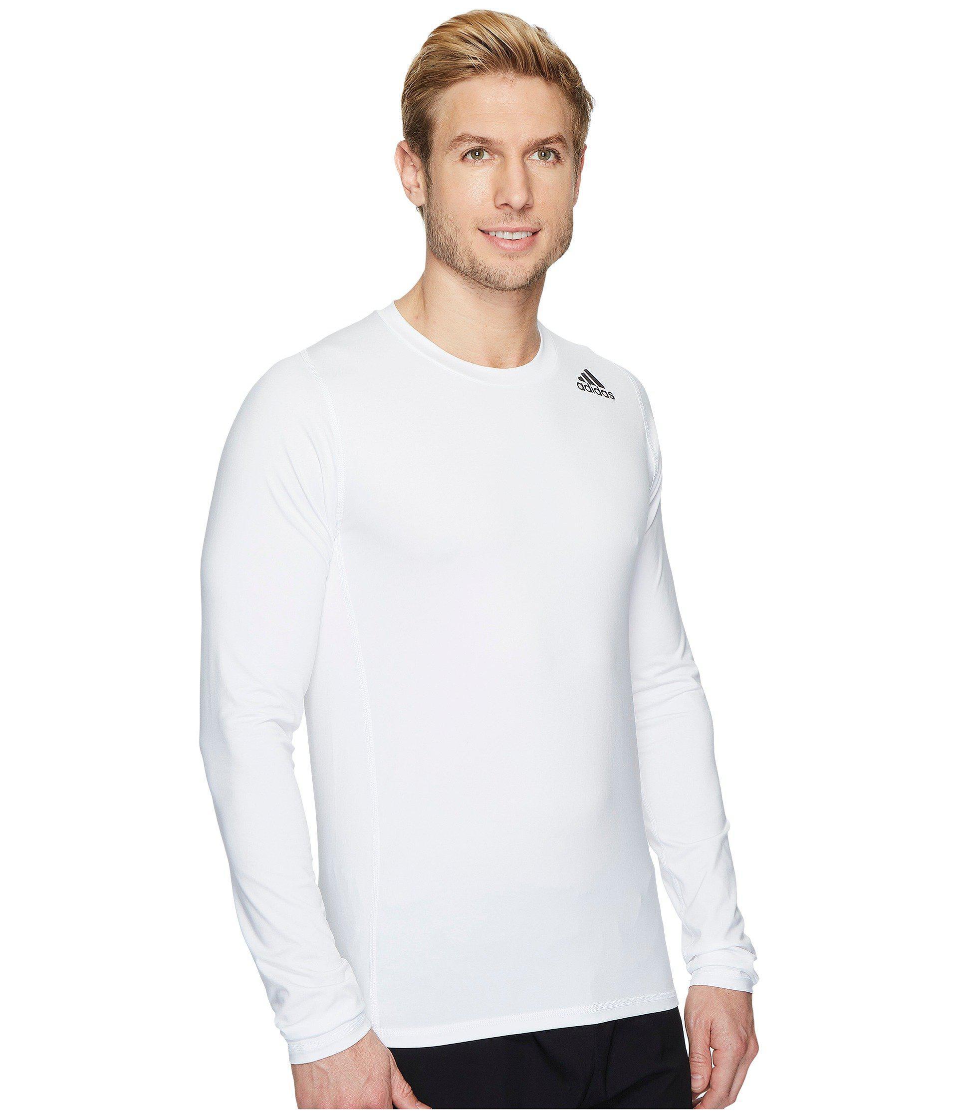 5541ec7a4fa7f Men's Long Sleeve Alphaskin Sport Tee (white) T Shirt