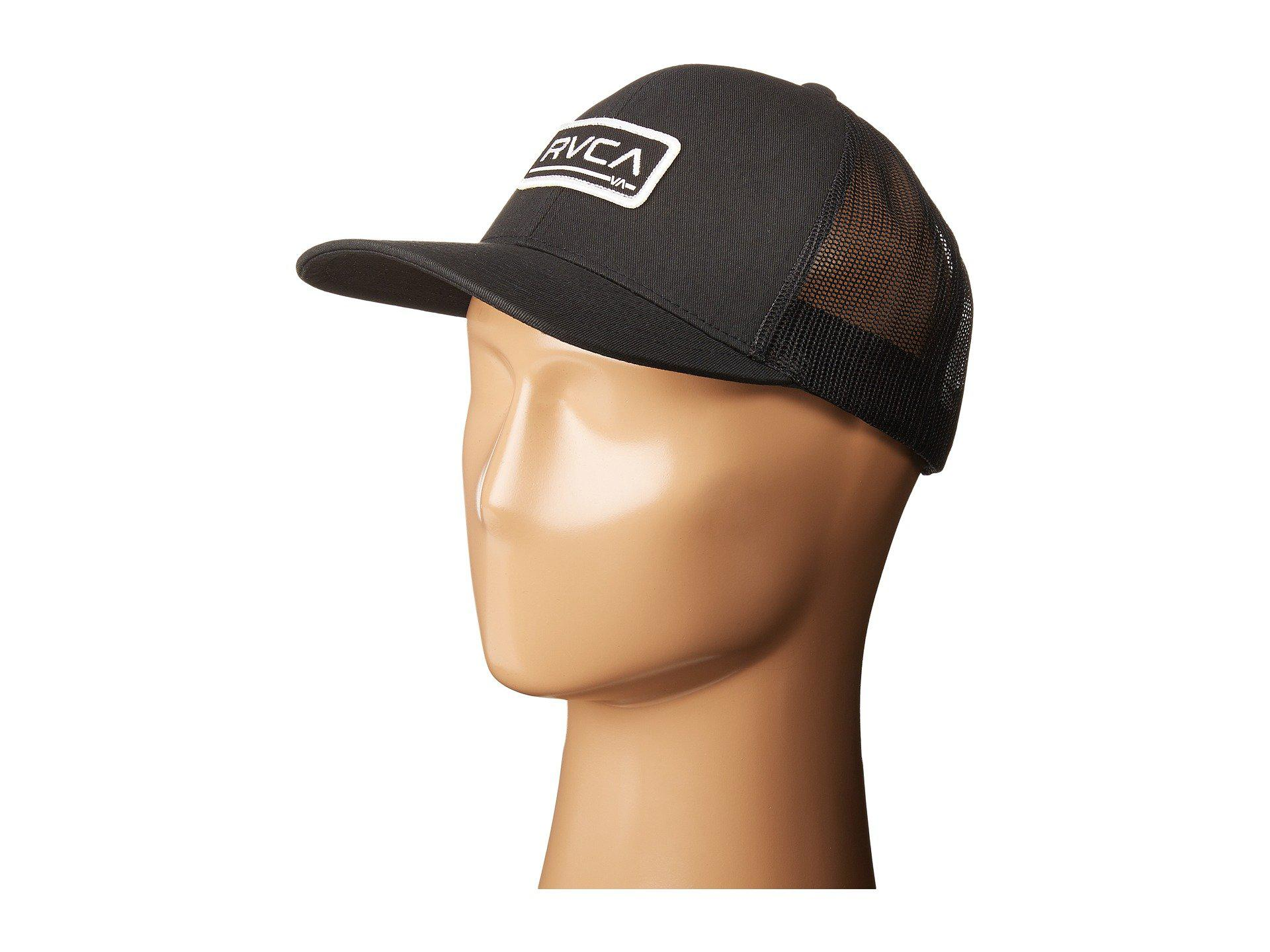 cd71b6c7834 Lyst - RVCA Ticket Trucker in Black for Men