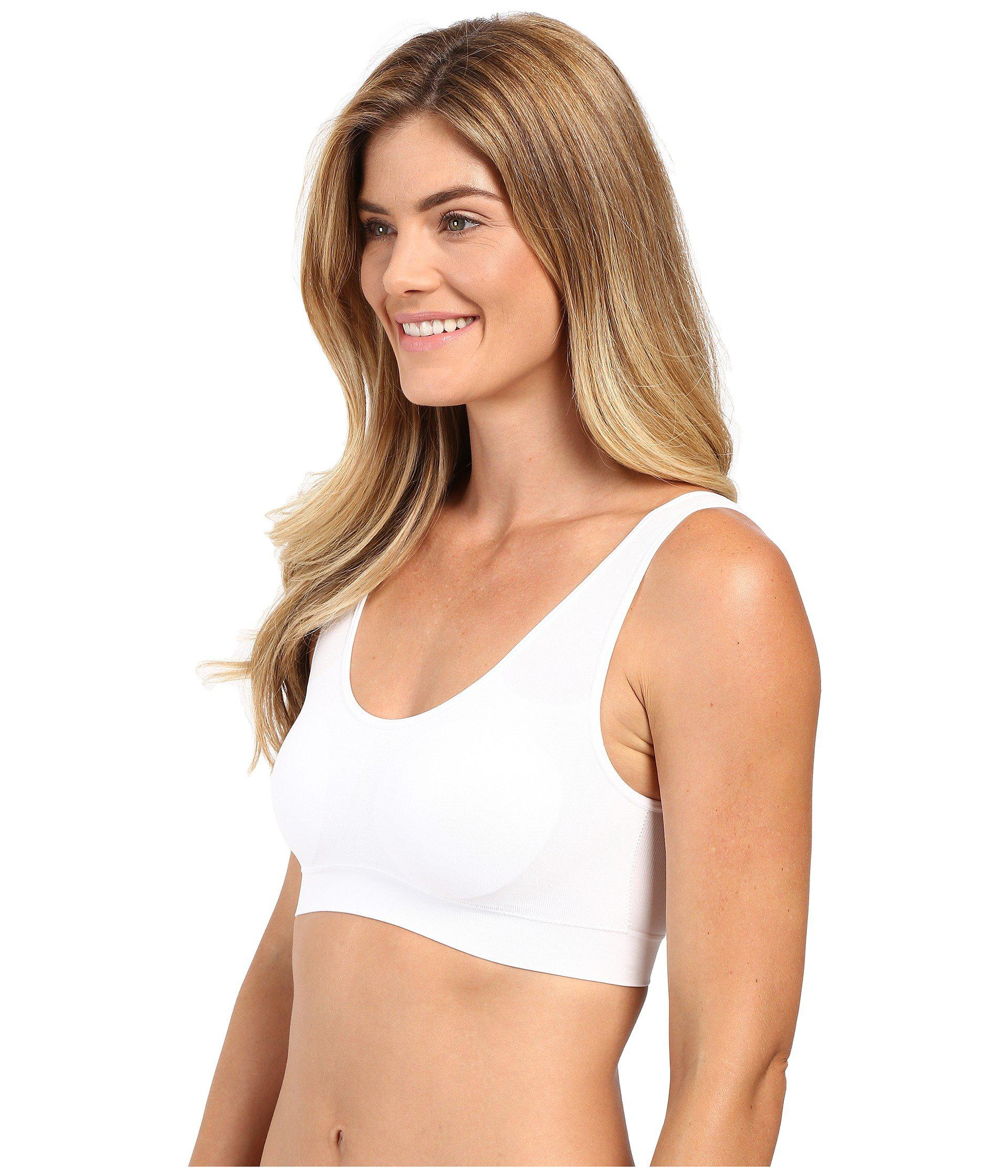 450141146a7cc Jockey - Modern Micro Seamfree(r) Ballet Crop Top (white) Women s  Underwear. View fullscreen