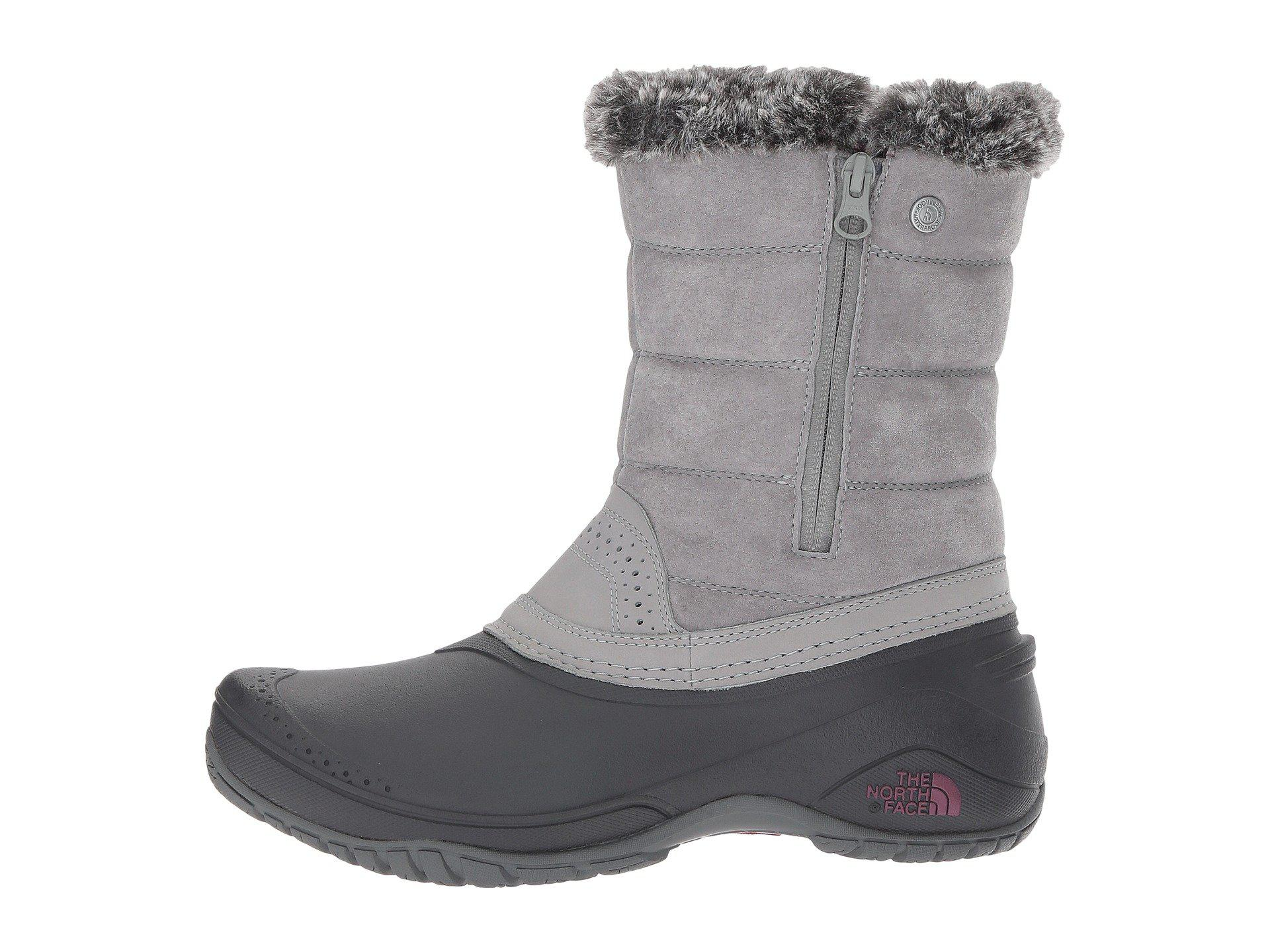 96cf92b11 The North Face Gray Shellista Iii 200g Waterproof Pull-on Winter Boots