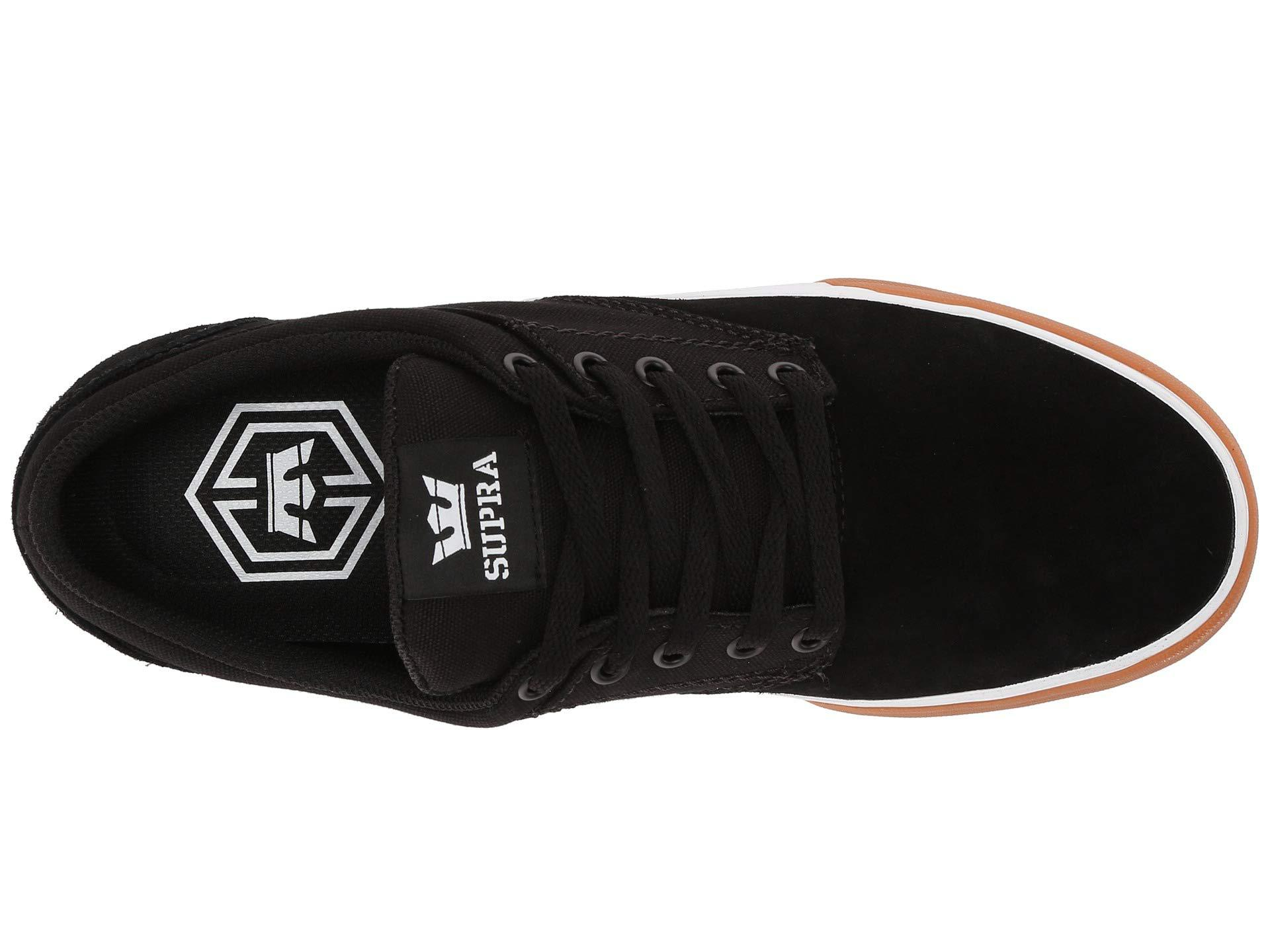 ecc5329fc941 Lyst - Supra Chino (black white gum) Men s Skate Shoes in Gray for Men