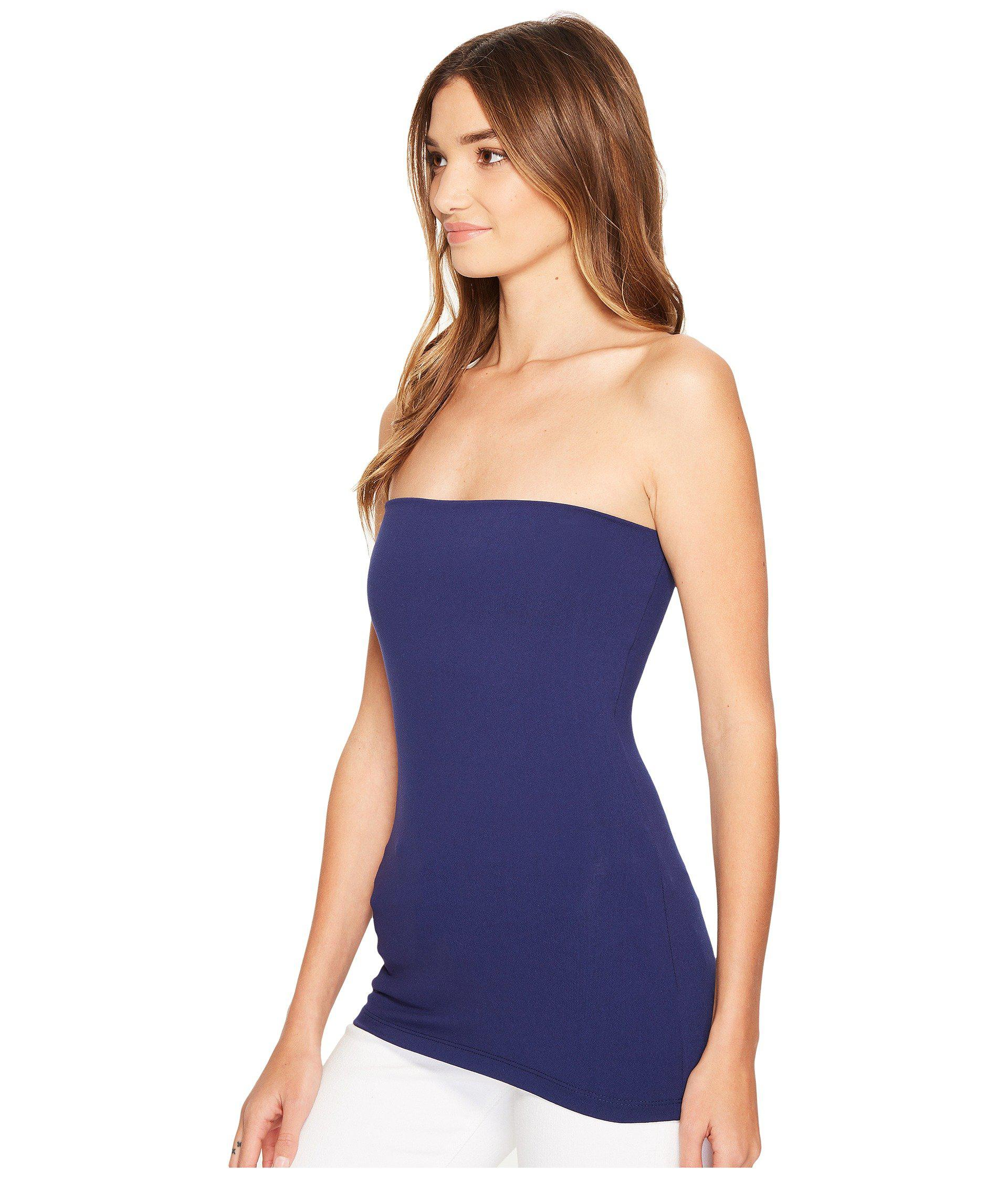 e415b5b464748 Lyst - Susana Monaco Tube Top (black 1) Women s Sleeveless in Blue