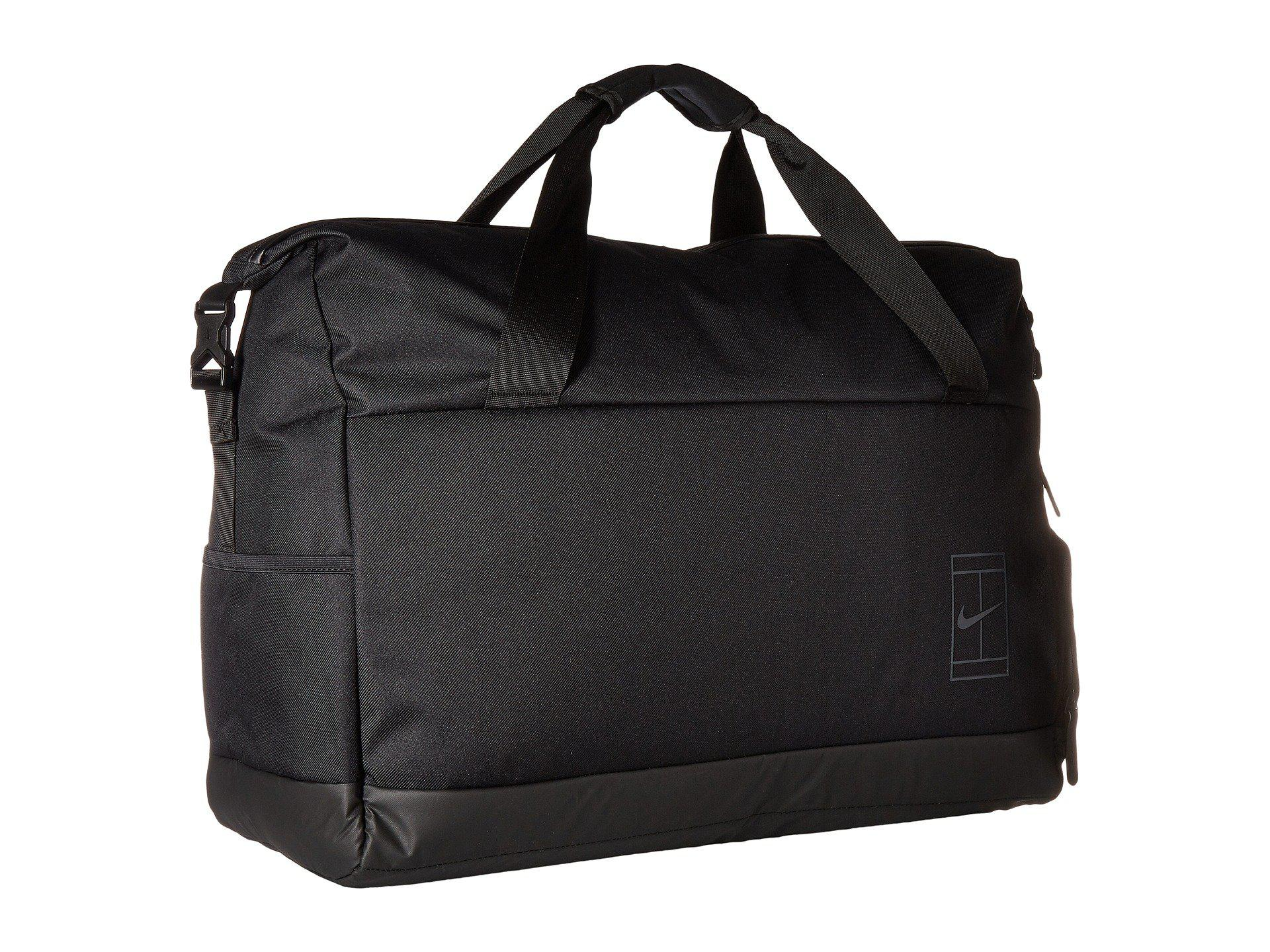 671581f5c6f3 Lyst - Nike Court Advantage Tennis Duffel Bag (black black ...
