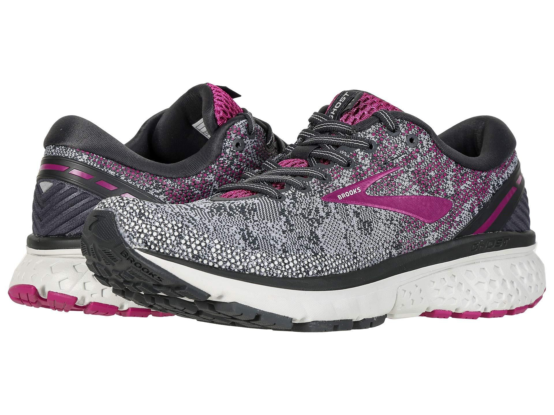 93b25f89b34b1 Brooks - Multicolor Ghost 11 (ebony oyster wild Aster) Women s Running Shoes.  View fullscreen