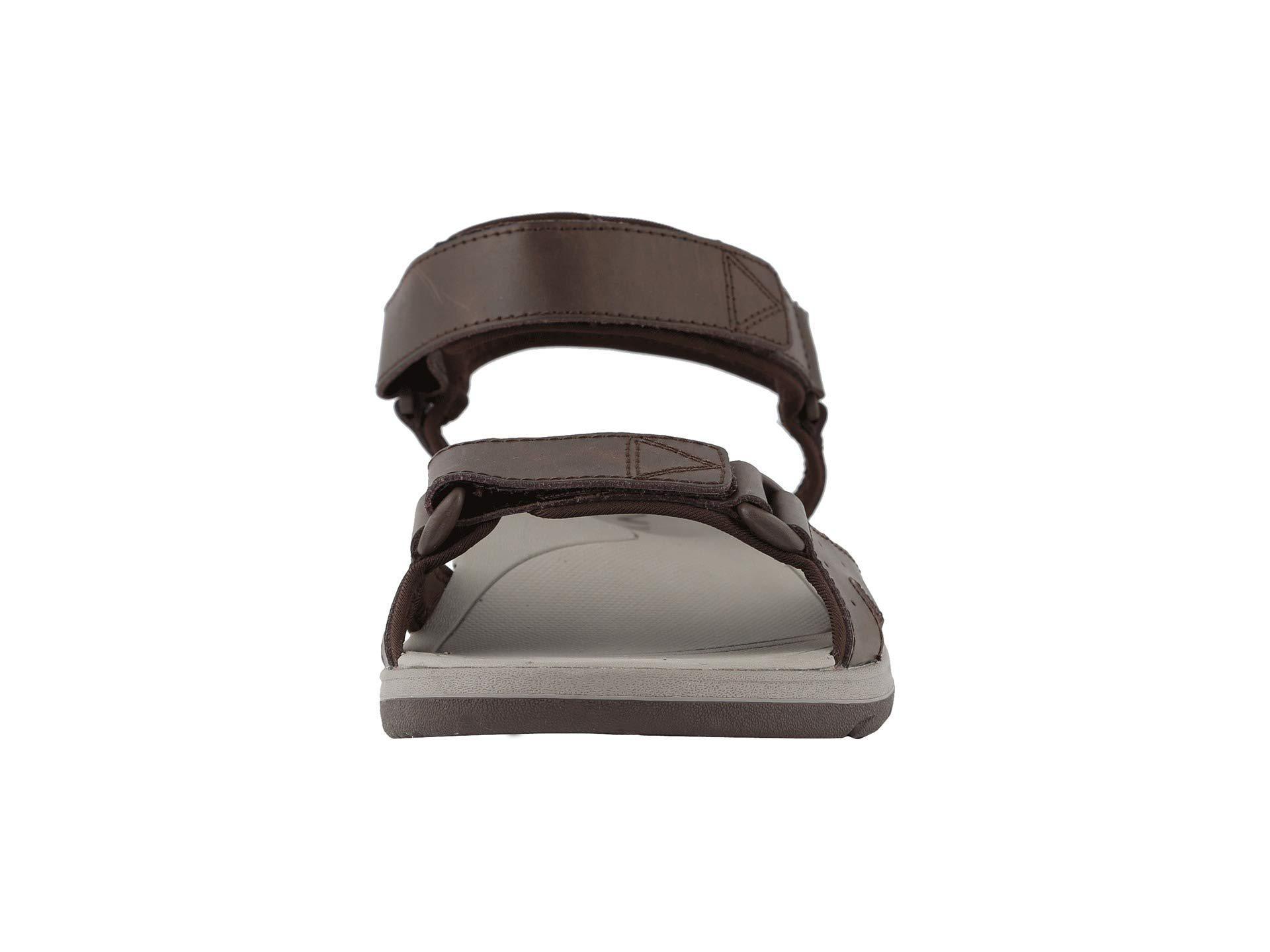 63f02ef9505a Vionic - Brown Leo (black) Men s Sandals for Men - Lyst. View fullscreen